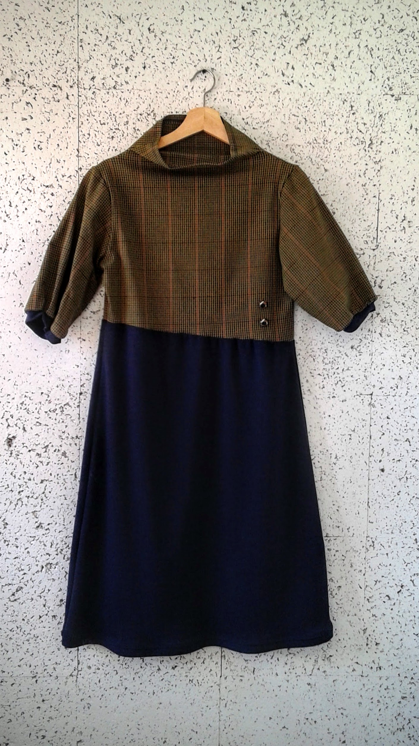Oxford By Train dress; Size L, $38