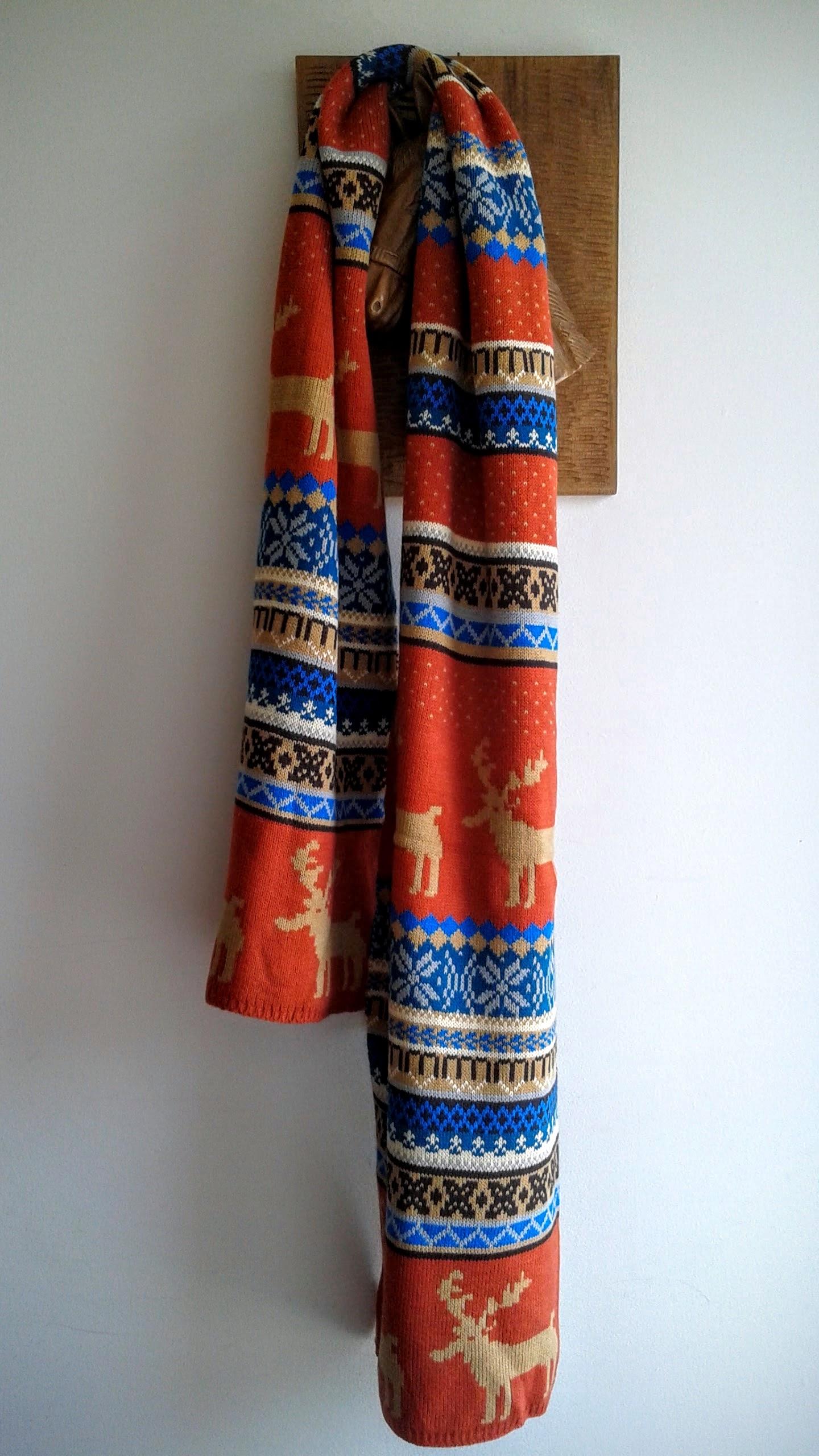 Moose scarf, $16