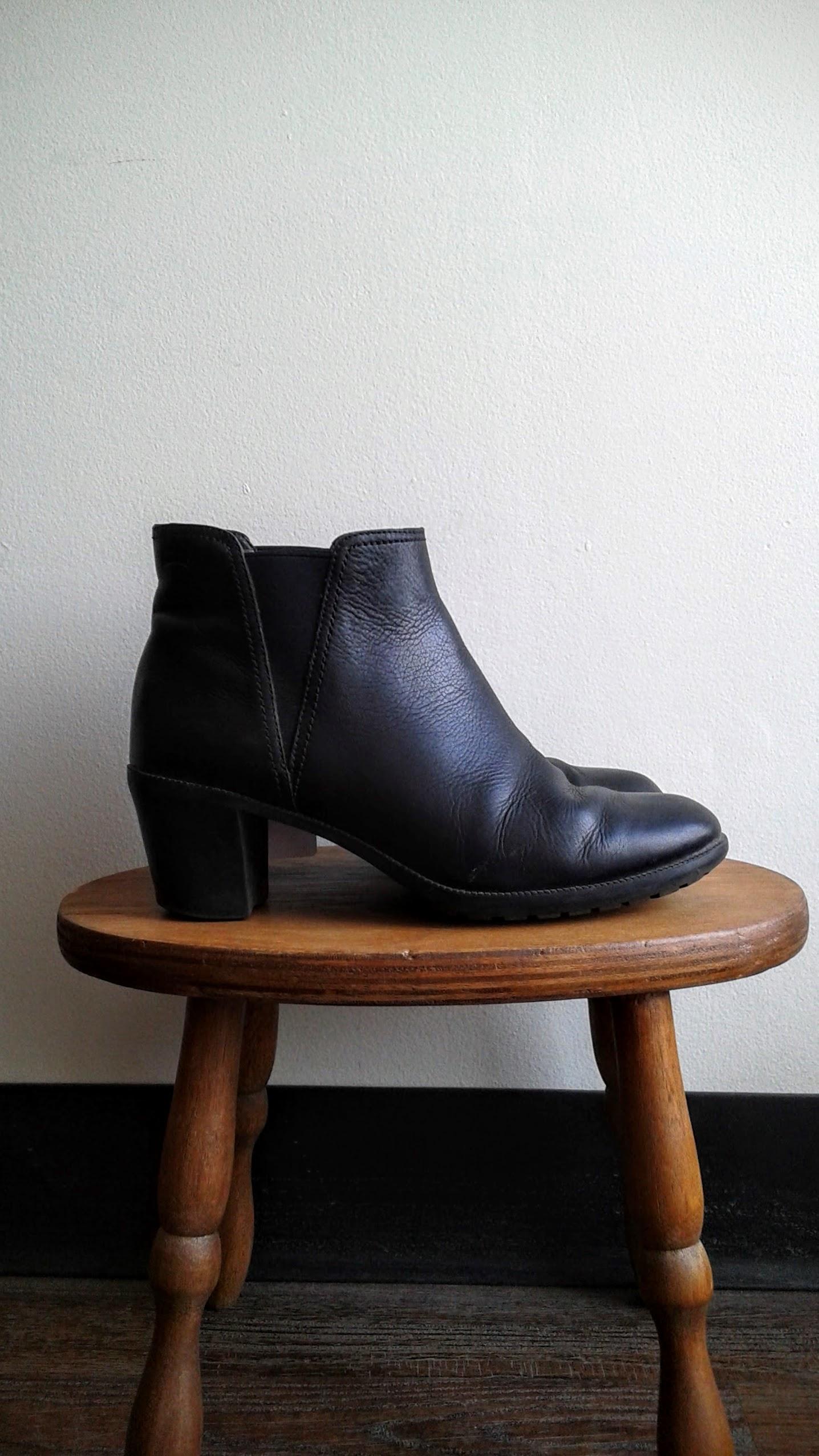 Camper boots; S8, $65