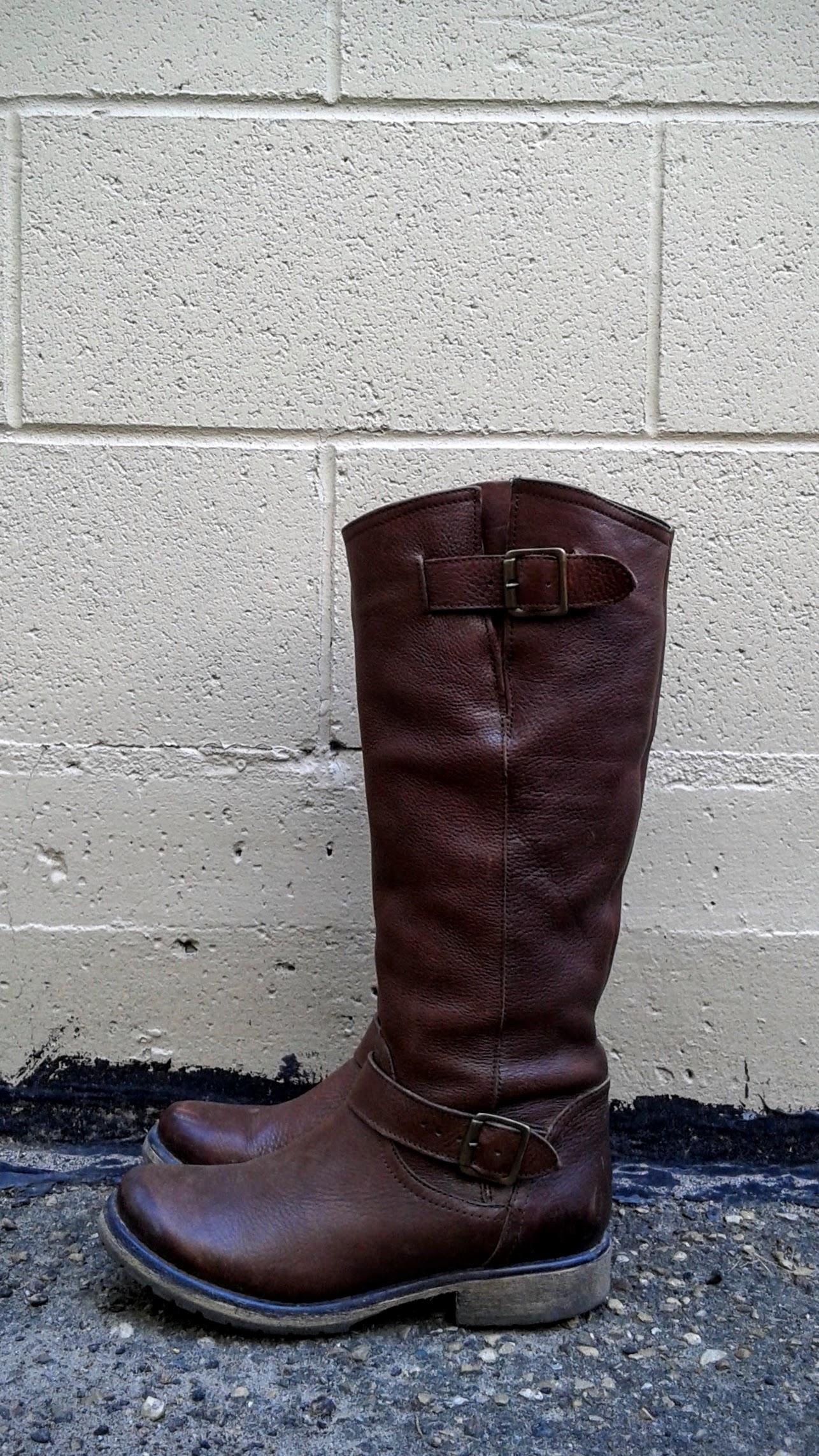 Steve Madden boots; S8.5, $45
