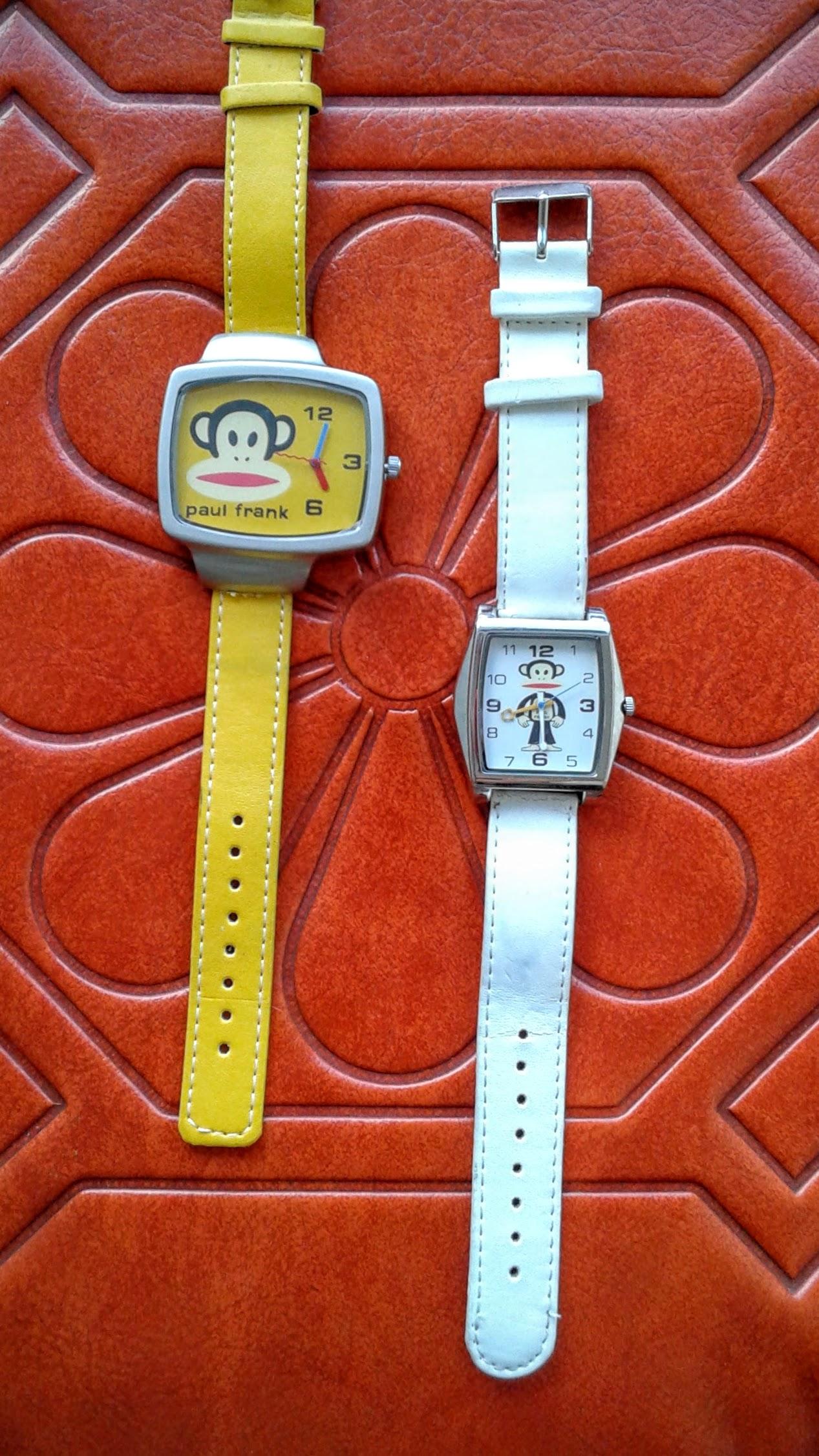 Paul Frank watches:Yellow, $28; White, $26