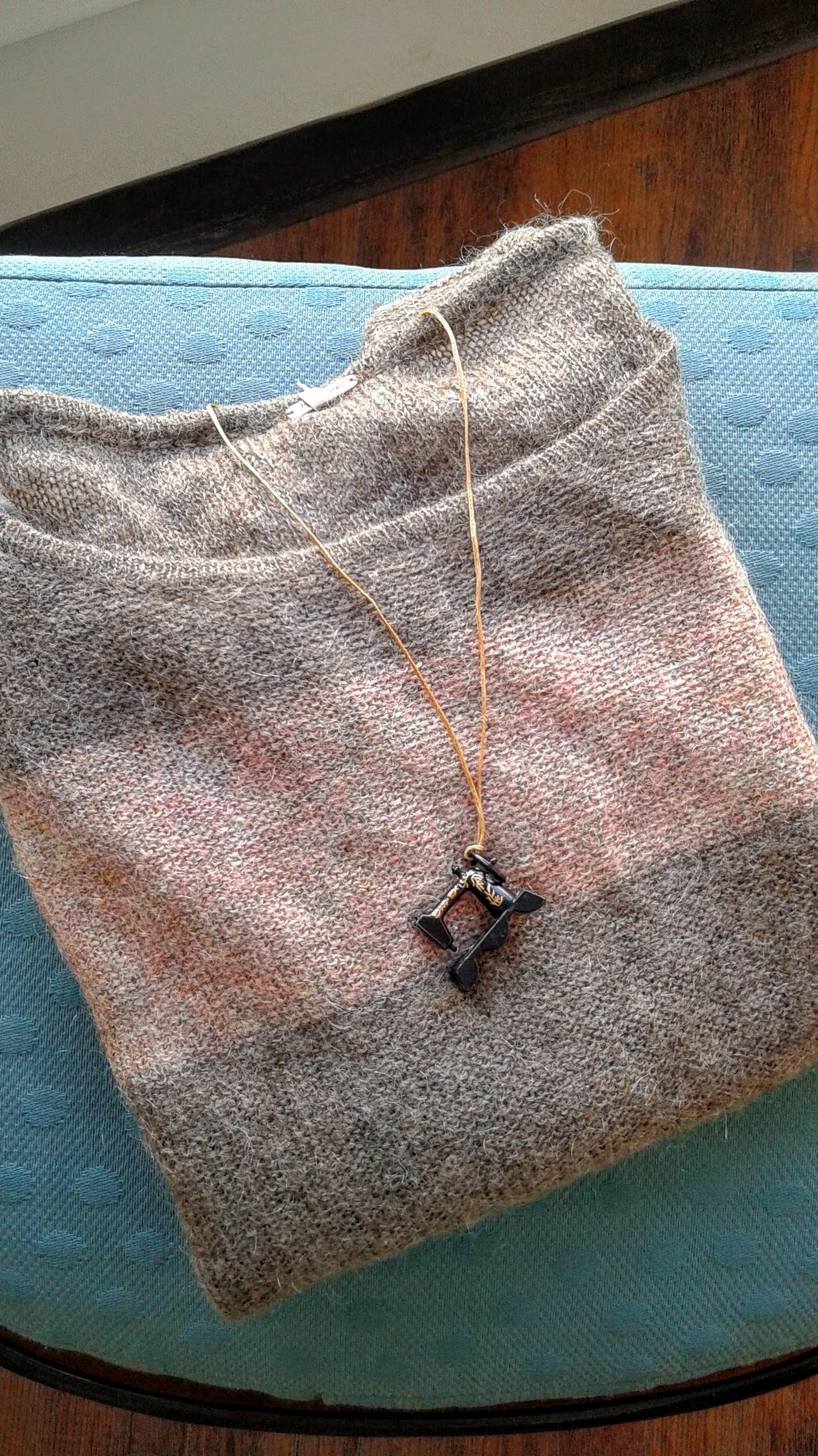 Sewing machine pendant