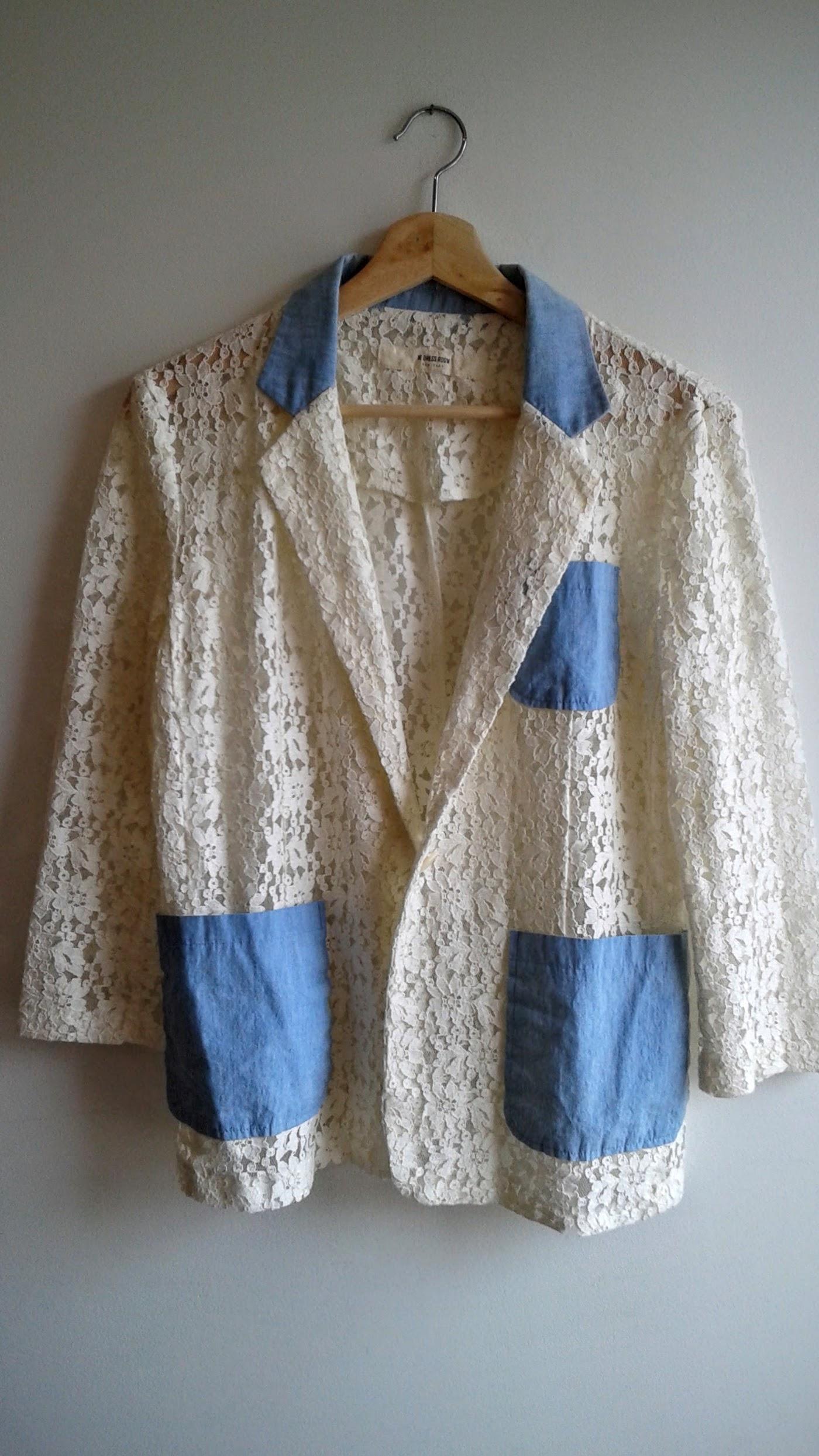 W. Dress Room  jacket; Size M, $30