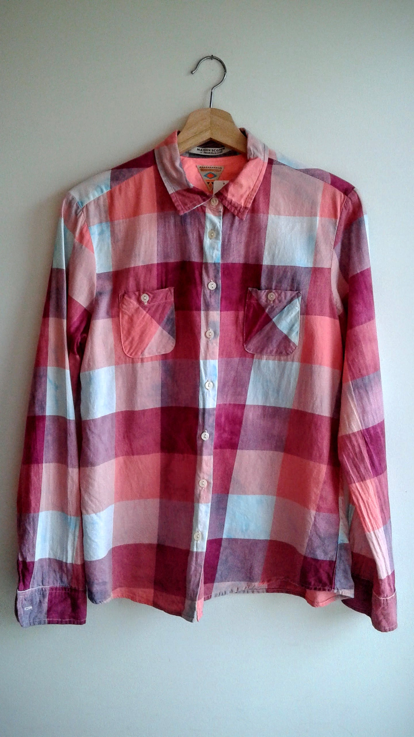 Maison Scotch shirt; Size M, $26