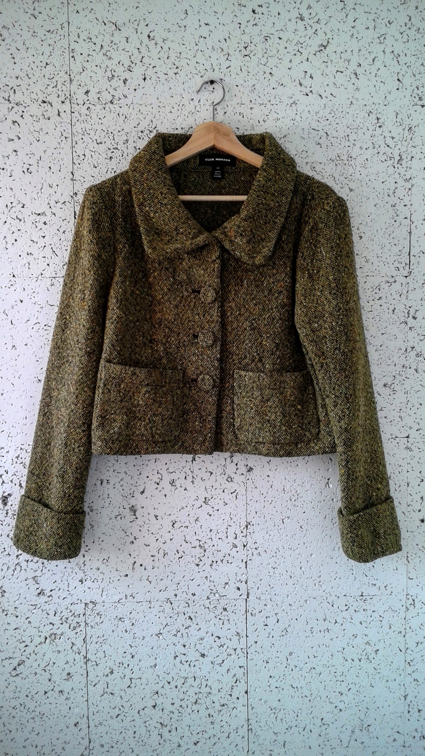 Club Monaco  coat; Size L, $52