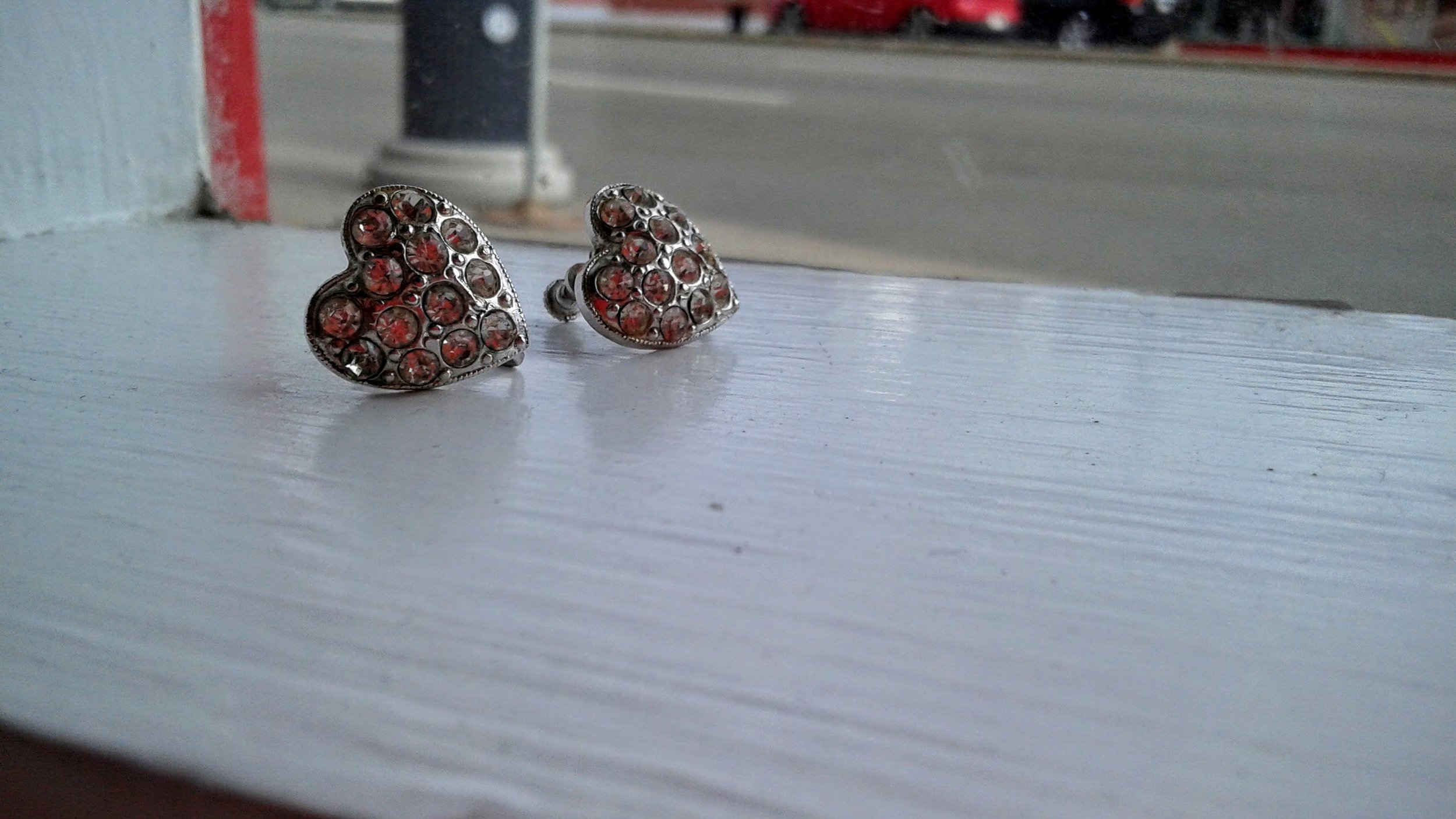 Earrings, $28