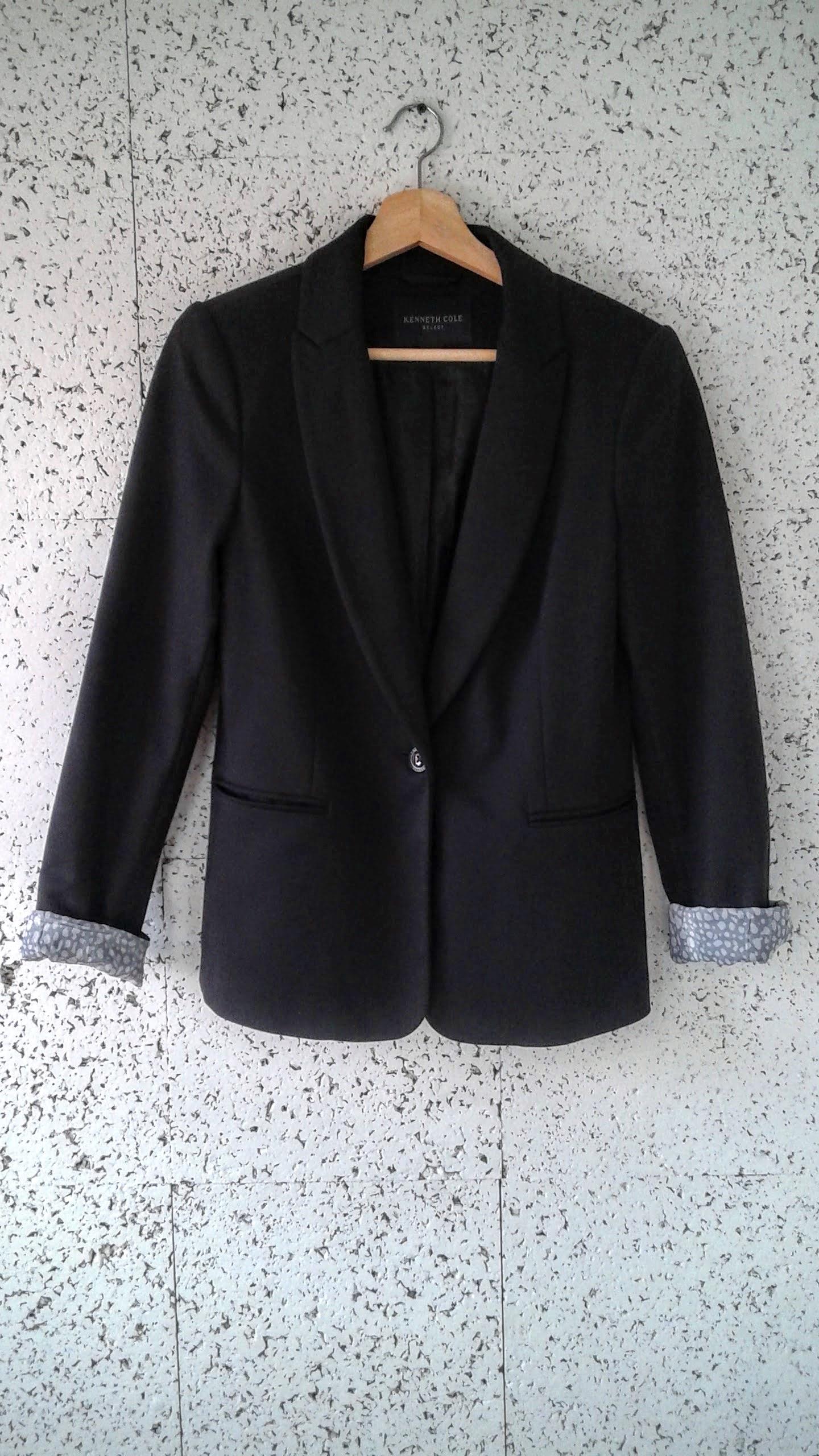 Kenneth Cole blazer; Size S, $40