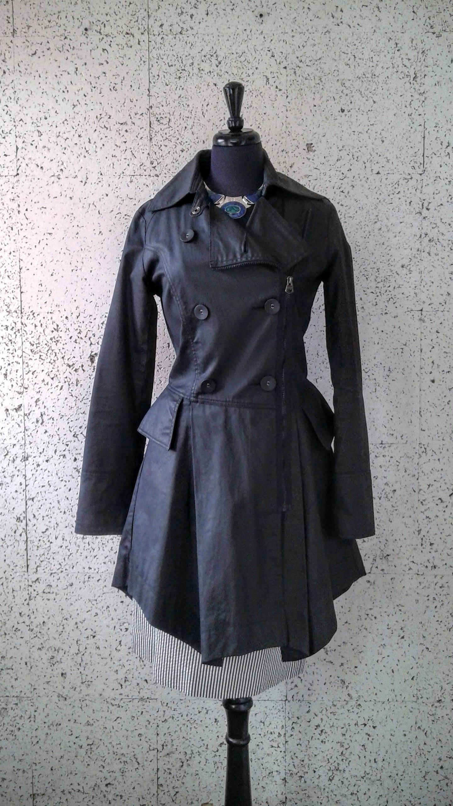 Fire Trap coat; Size S, $58