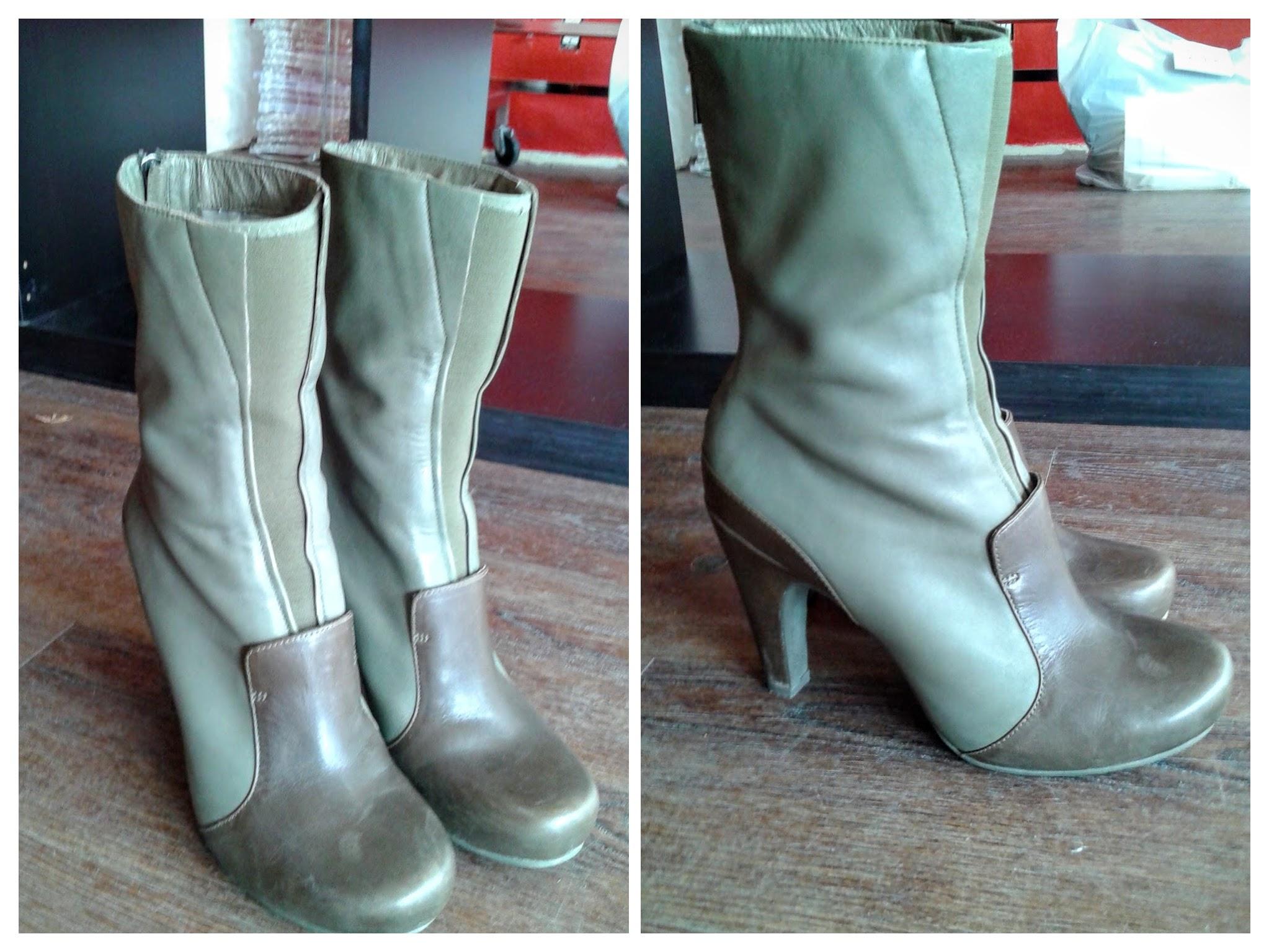 Green Tsubo boots!