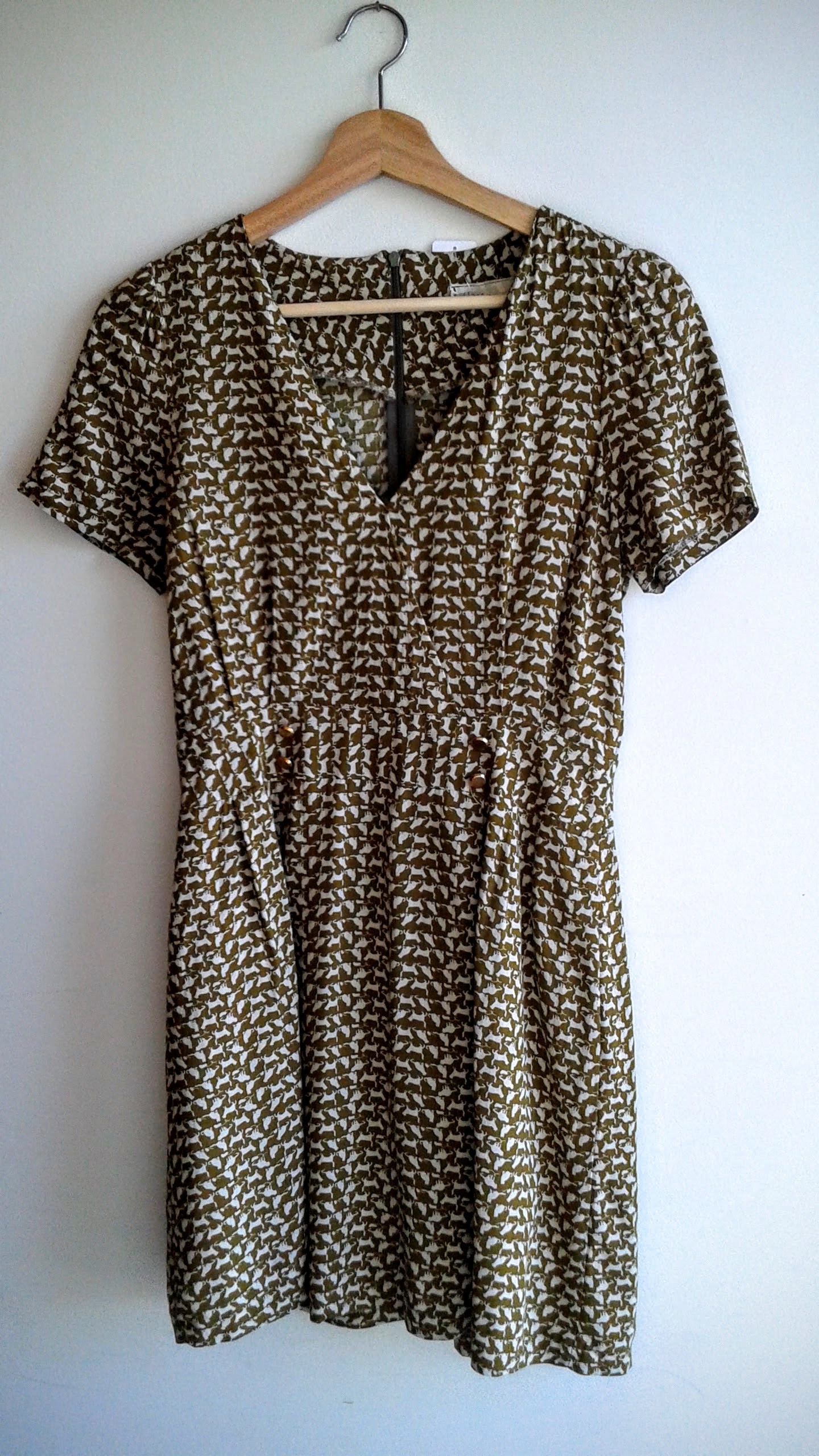 8th Floor dress; Size S, $36