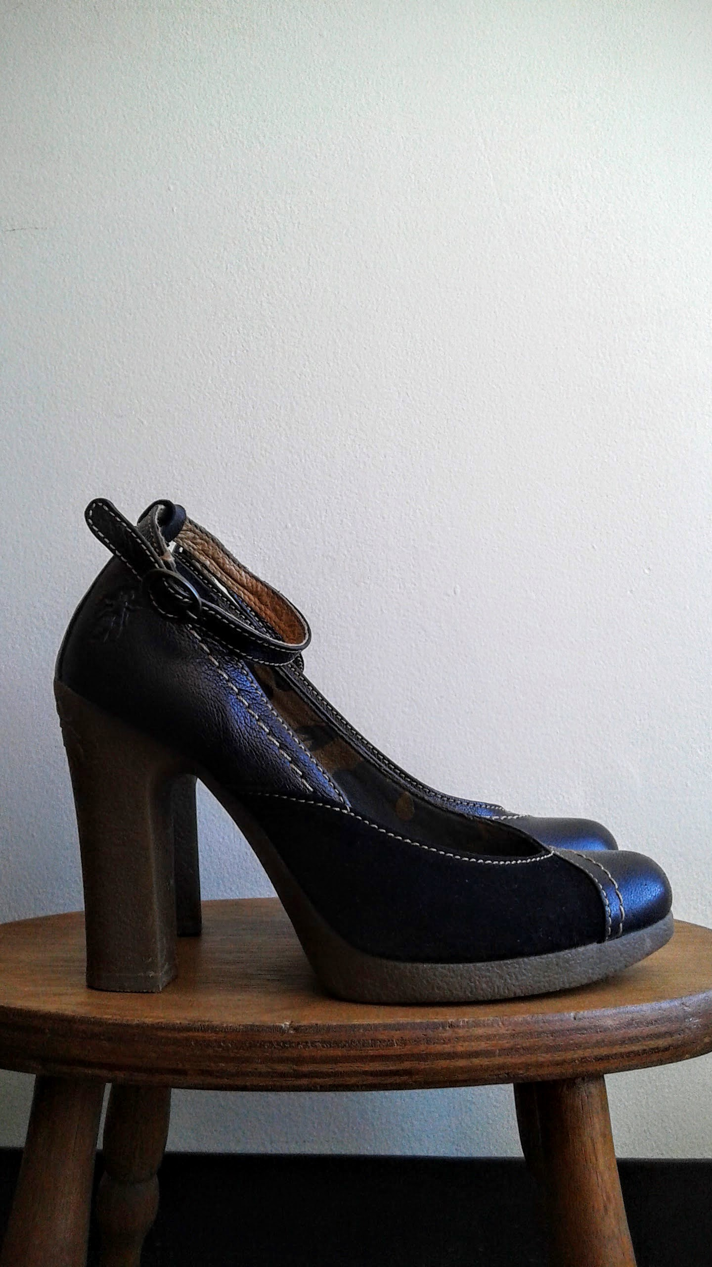 Fly London shoes; S6.5, $48
