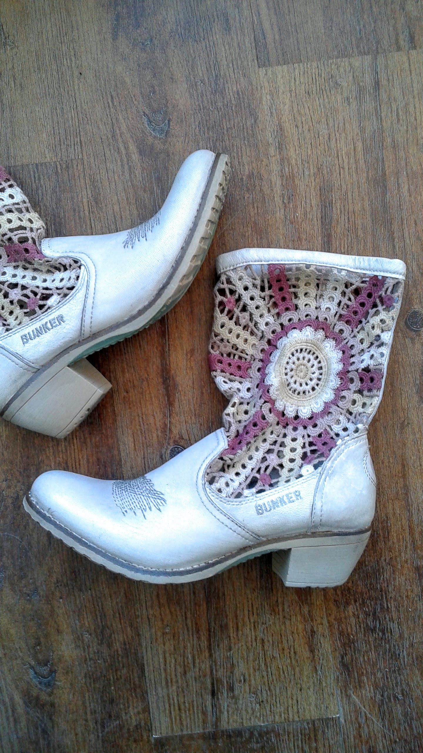 Bunker boots (NWT); S8, $85