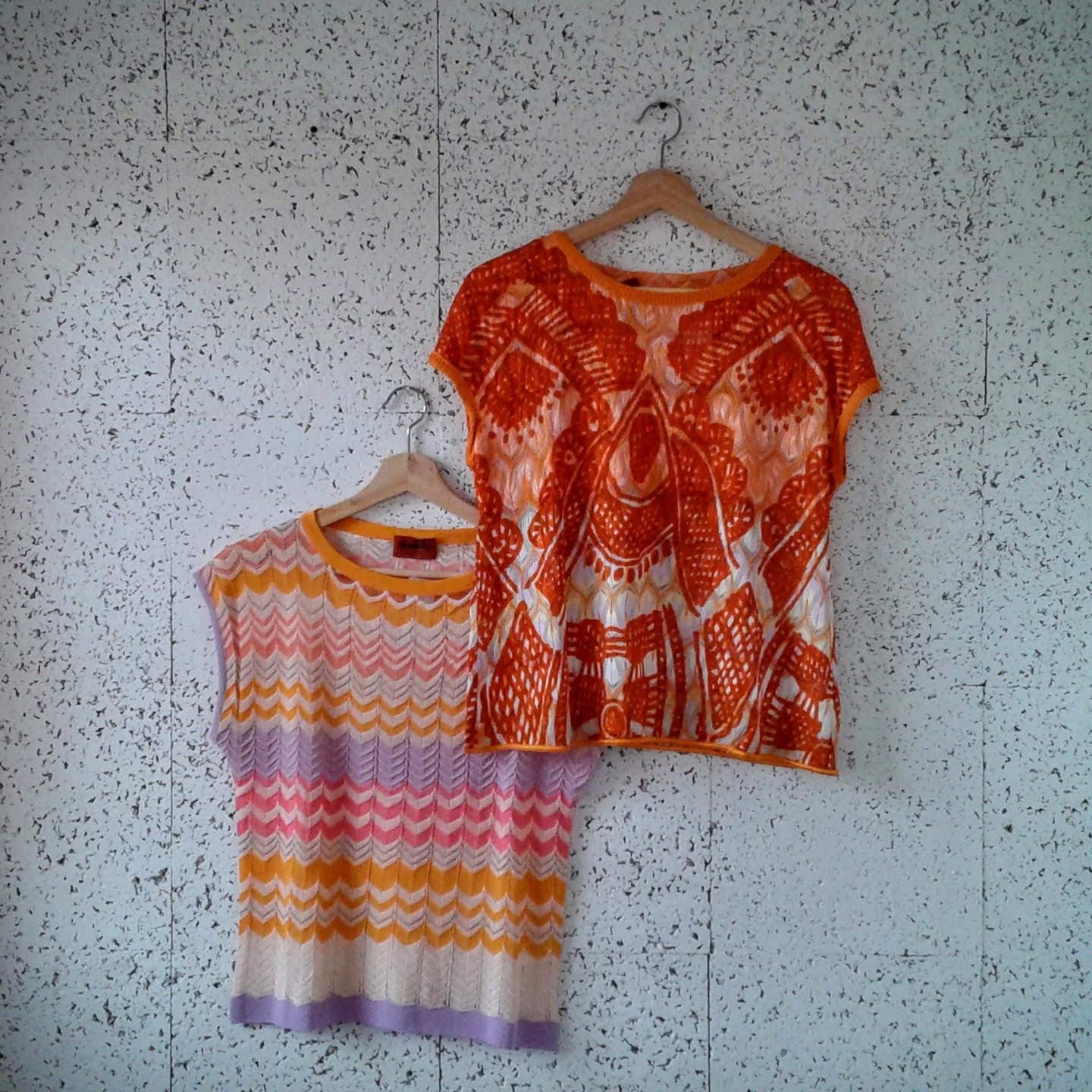 Missoni tops; Each size S, $48