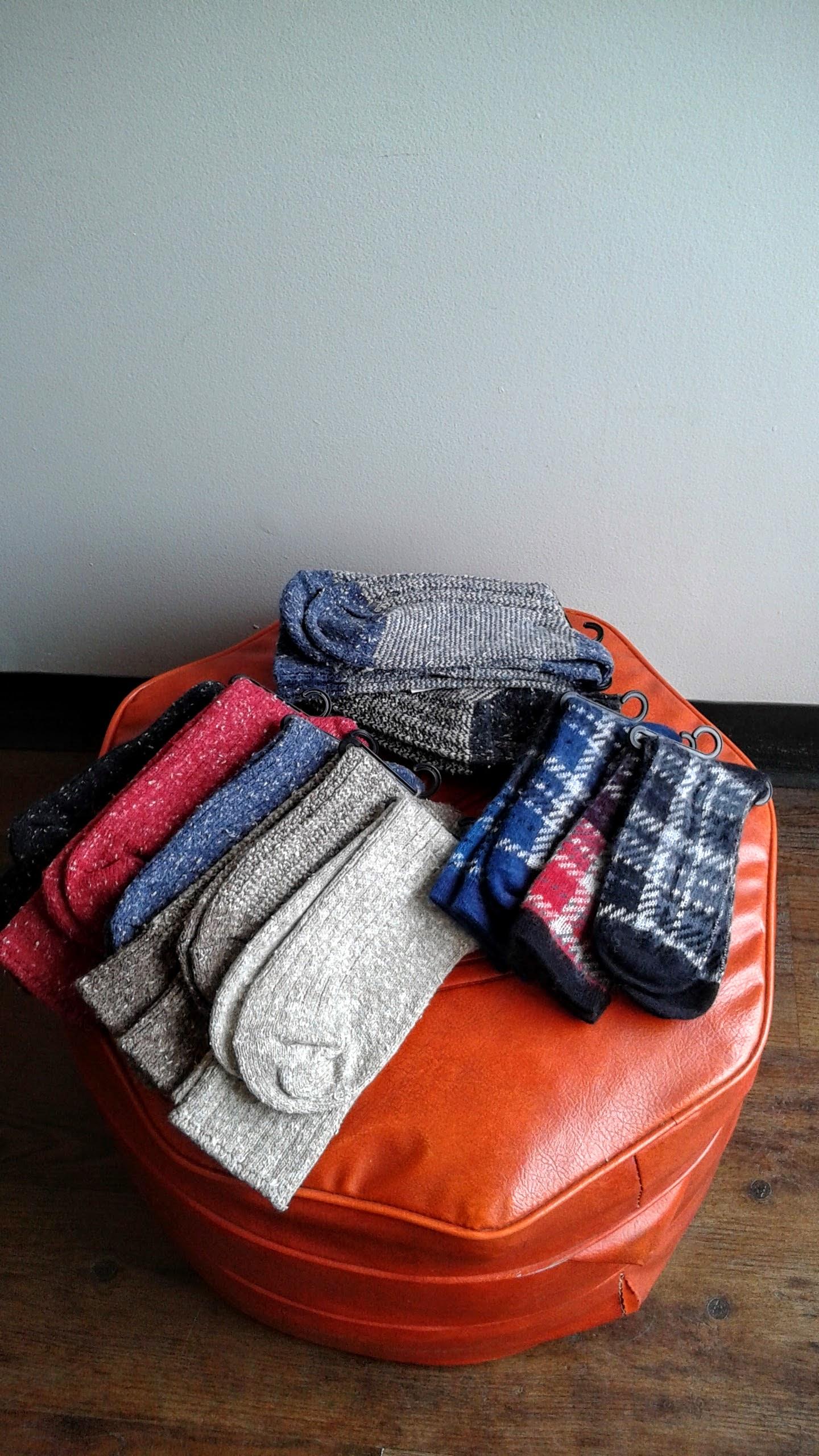 Assorted Hue socks, $14-$16