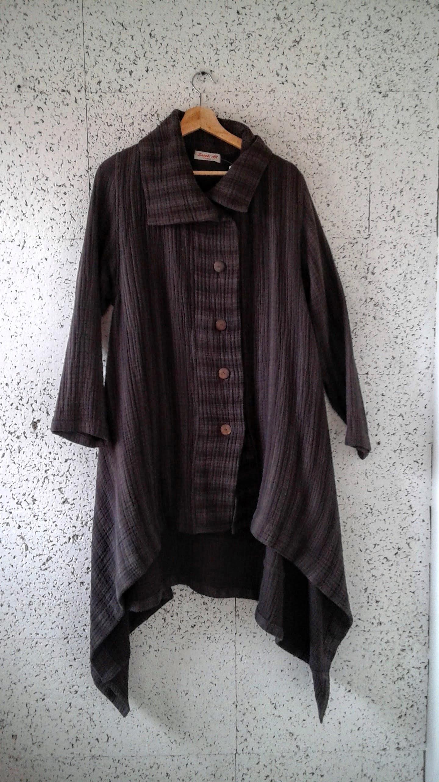 Sasaki Art coat; Size M, $62