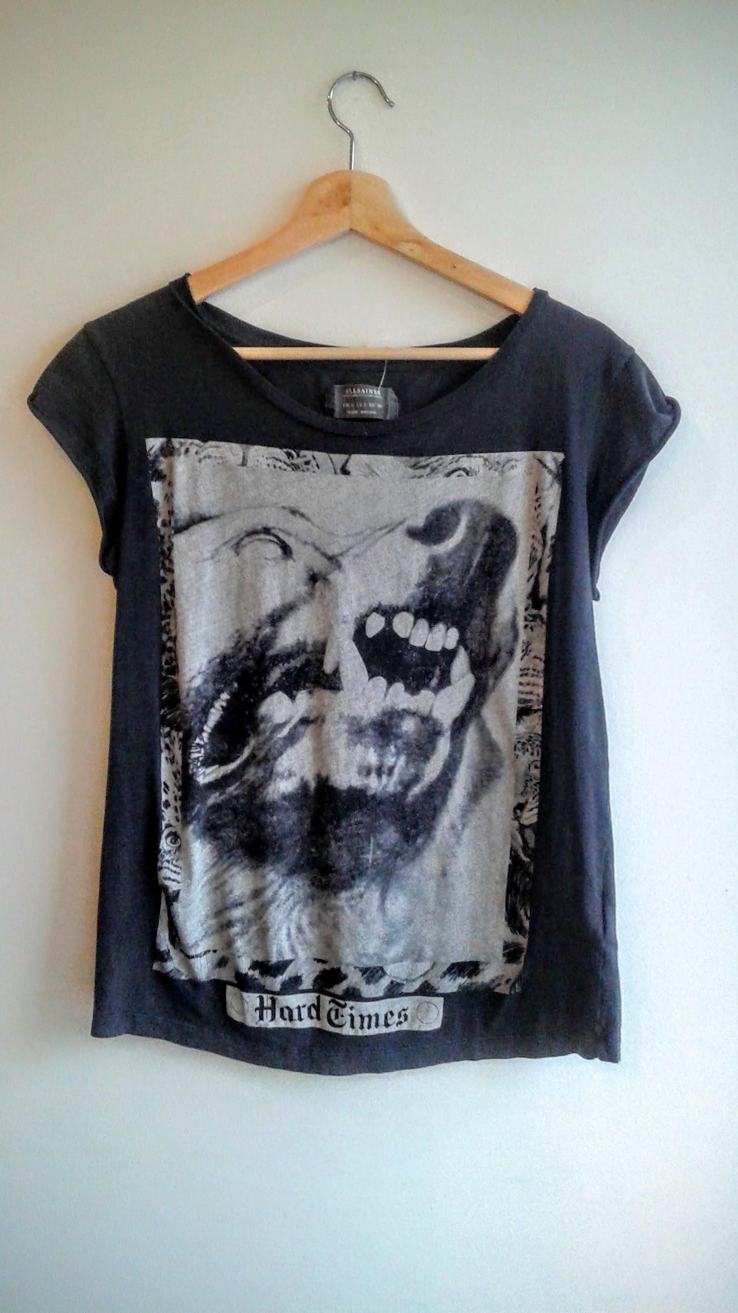 All Saint t-shirt; Size S, $30