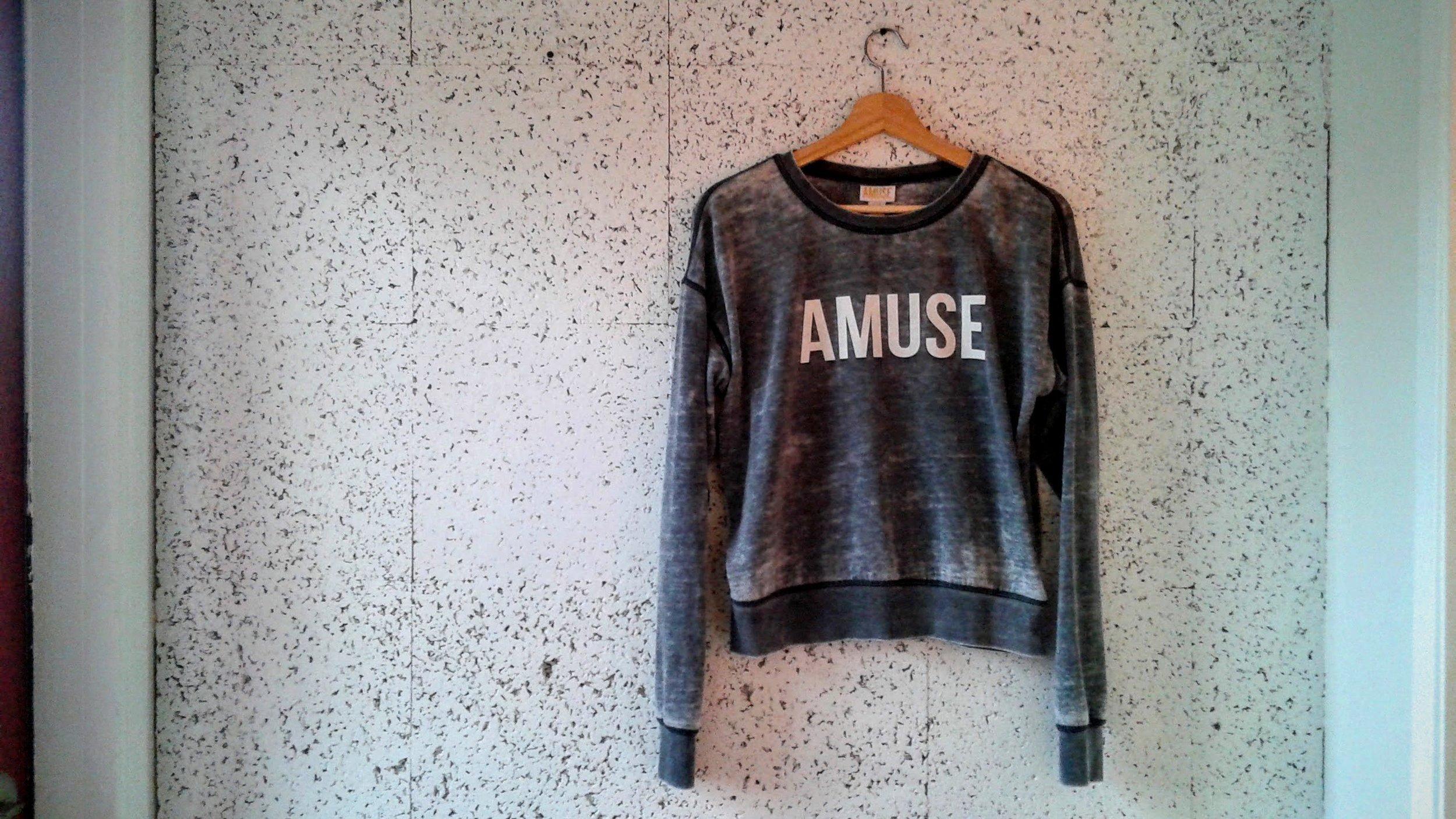 Amuse Society sweater; Size M, $18