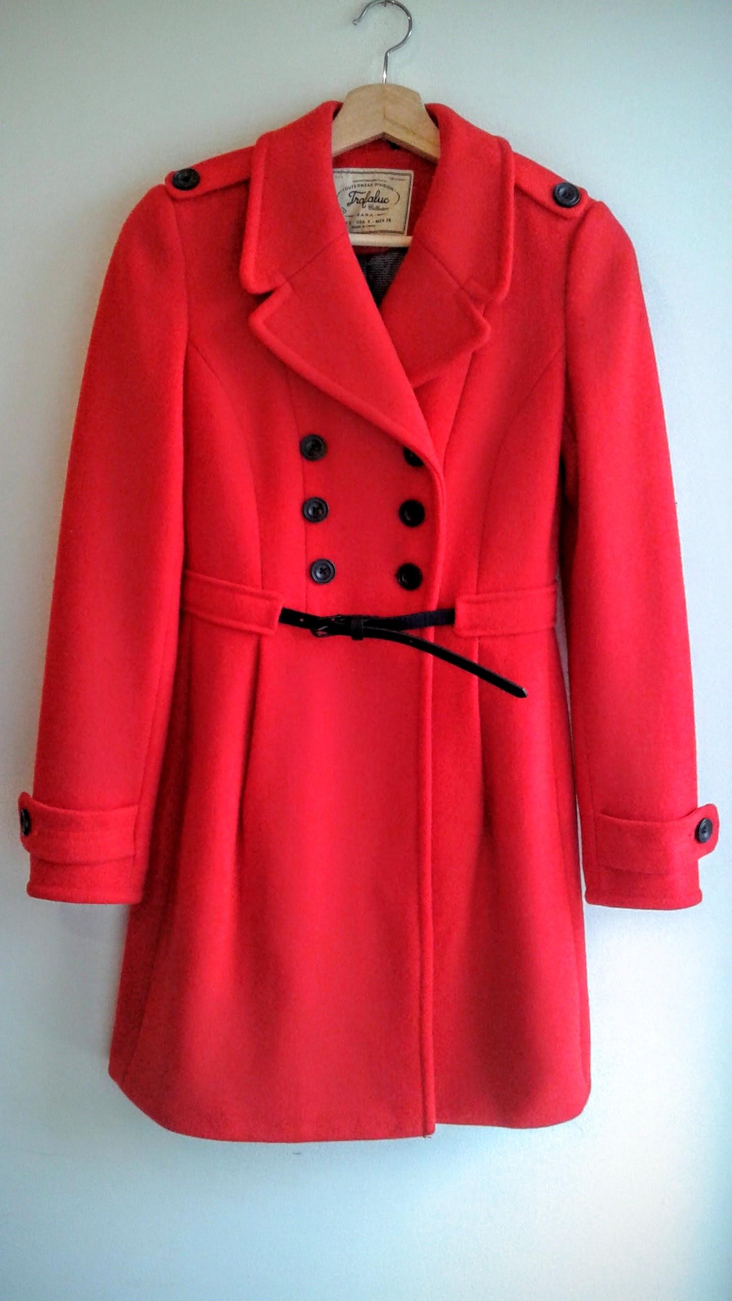 Zara  coat; Size S, $48