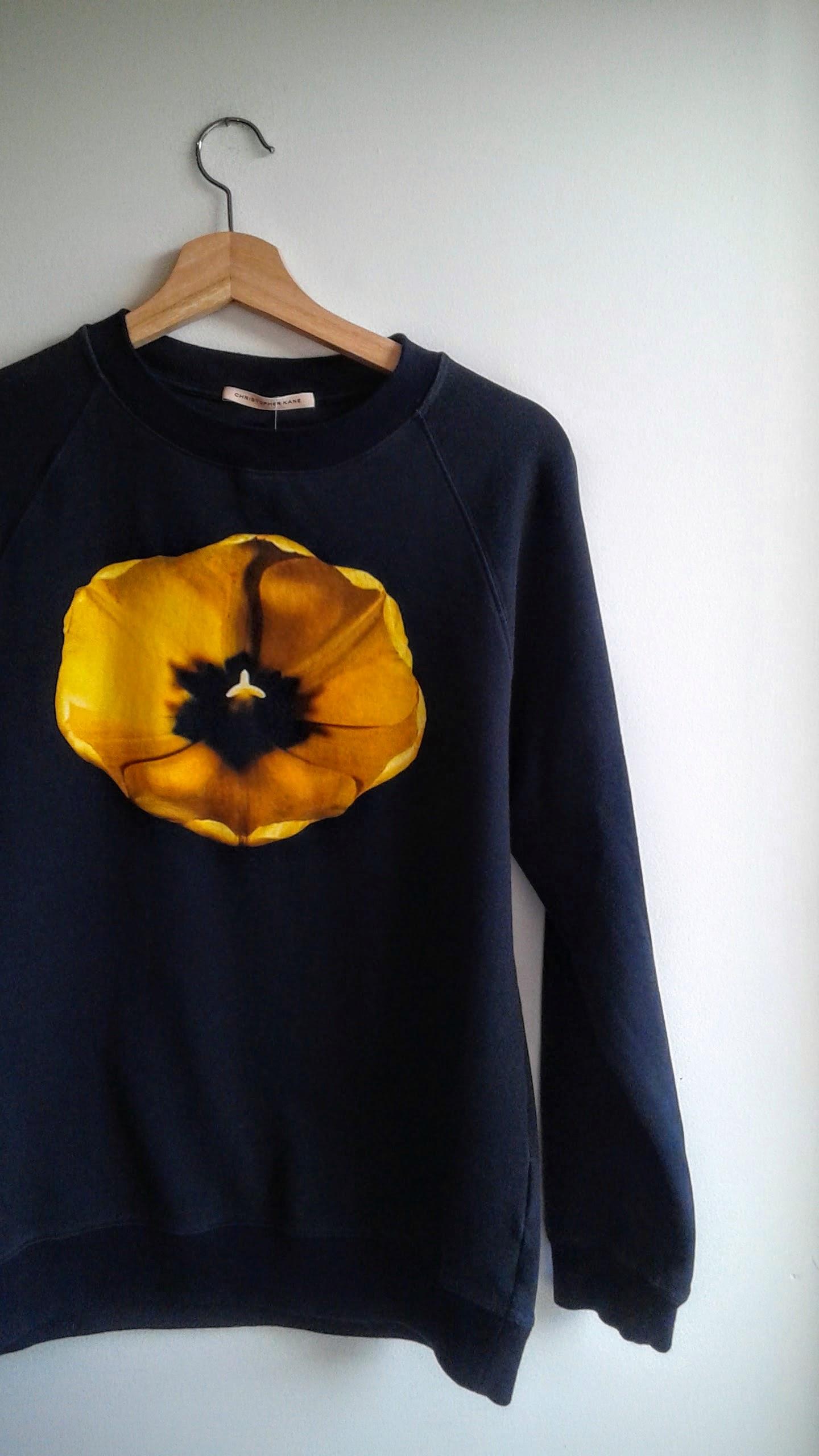 Christopher Kane sweatshirt; Size S, $60