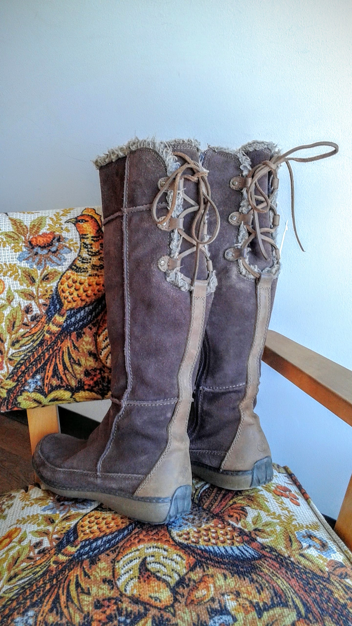 Fat Face boots; S10, $45