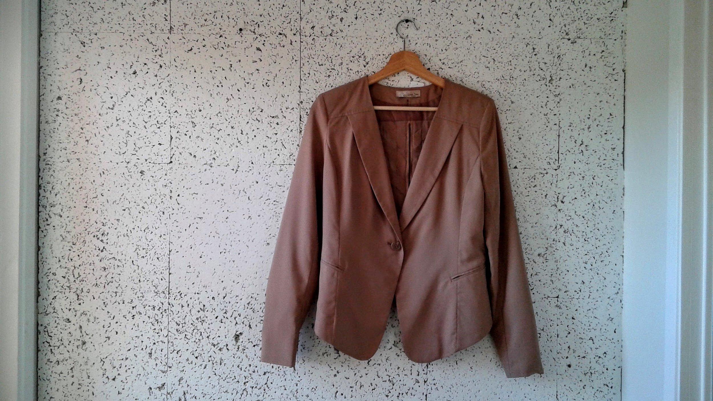 Tree Love  blazer; Size M, $26