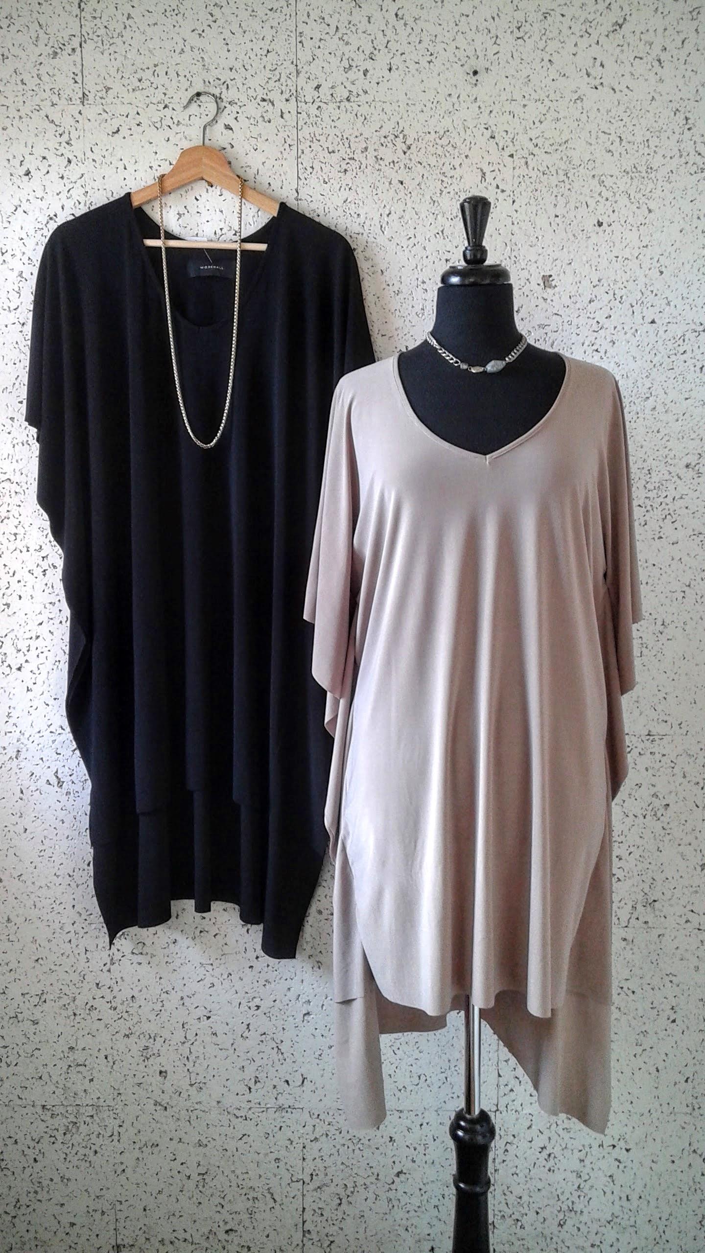 Workhall dresses; Size M, $52 each