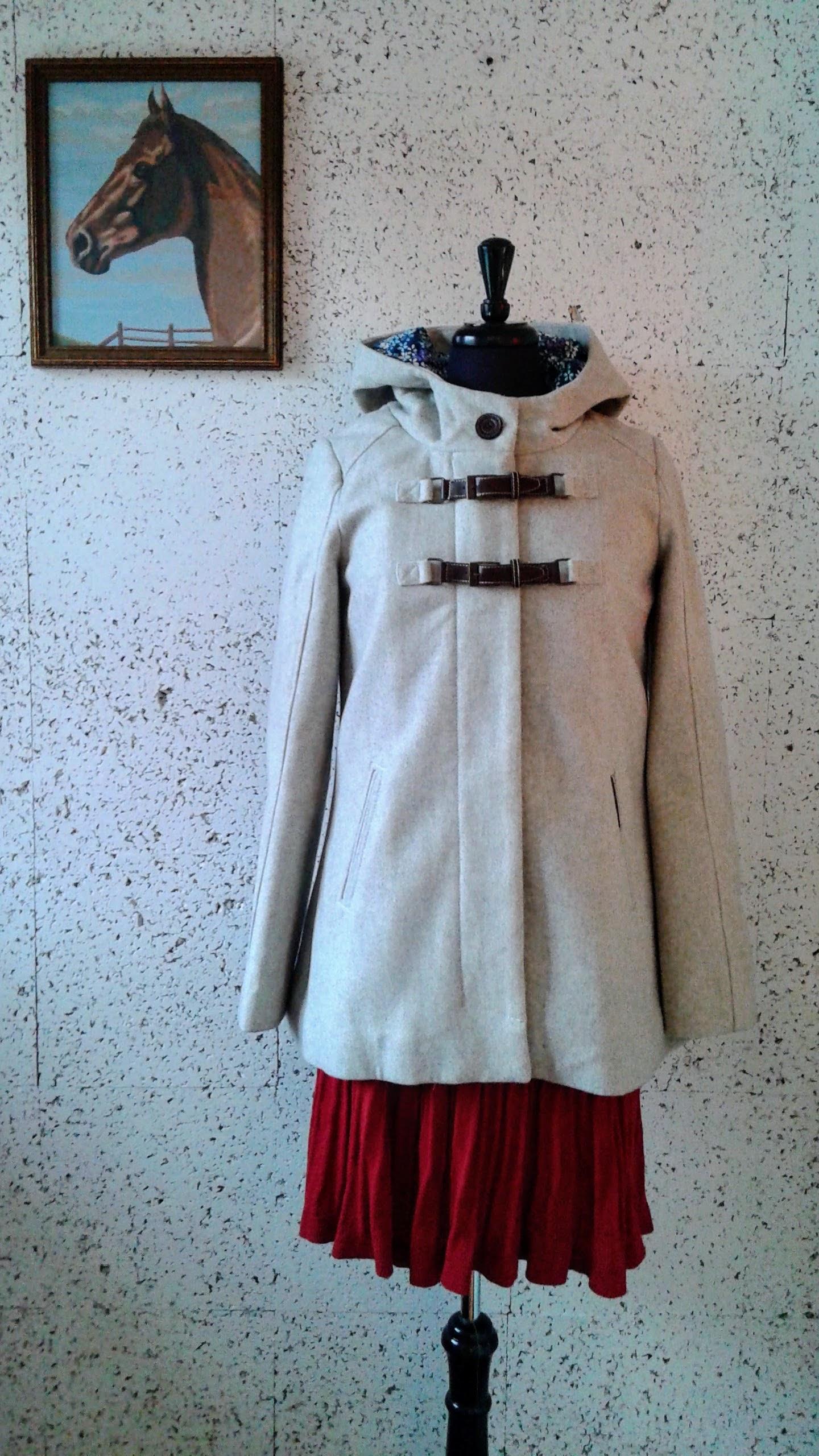 Twik coat; Size XS, $46