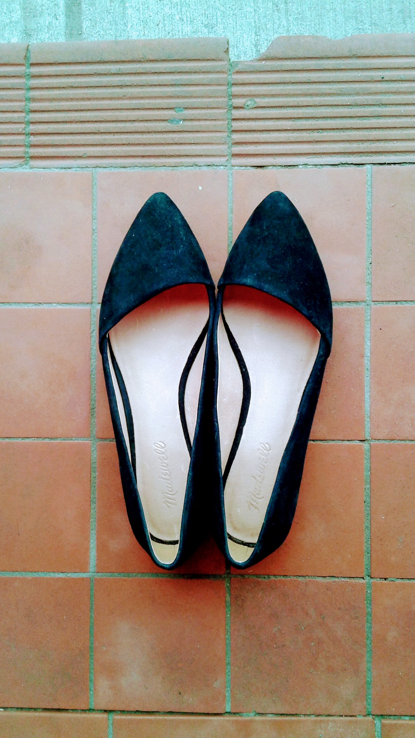 Madewell shoes; S8, $38