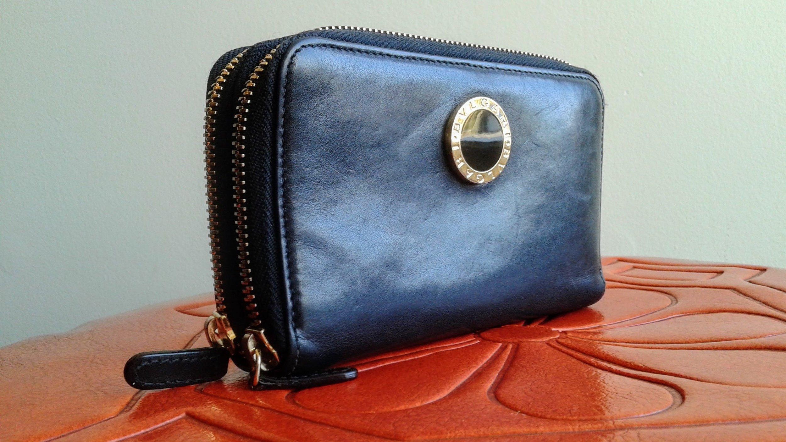 Bulgari wallet, $180