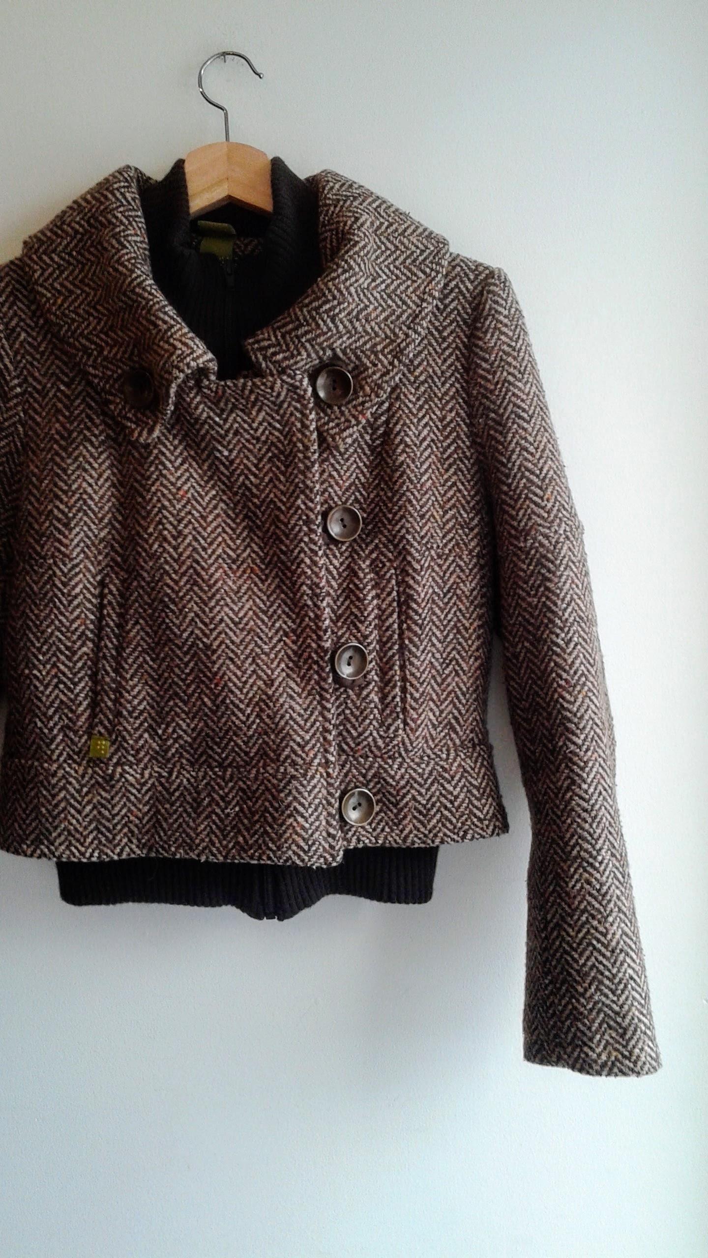 Soia & Kyo jacket; Size S, $68