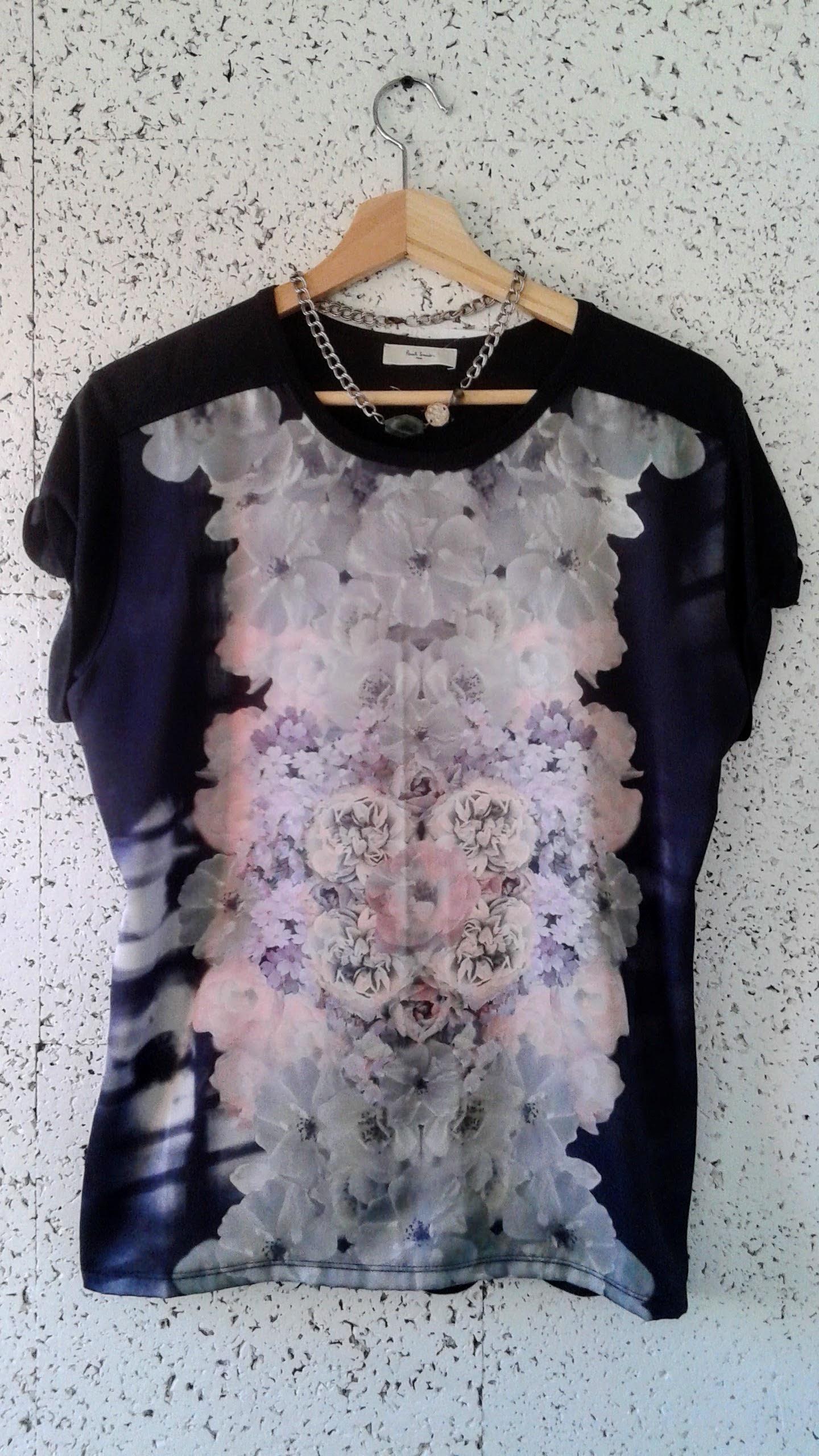Paul Smith  shirt; Size M, $32. Necklace, $30