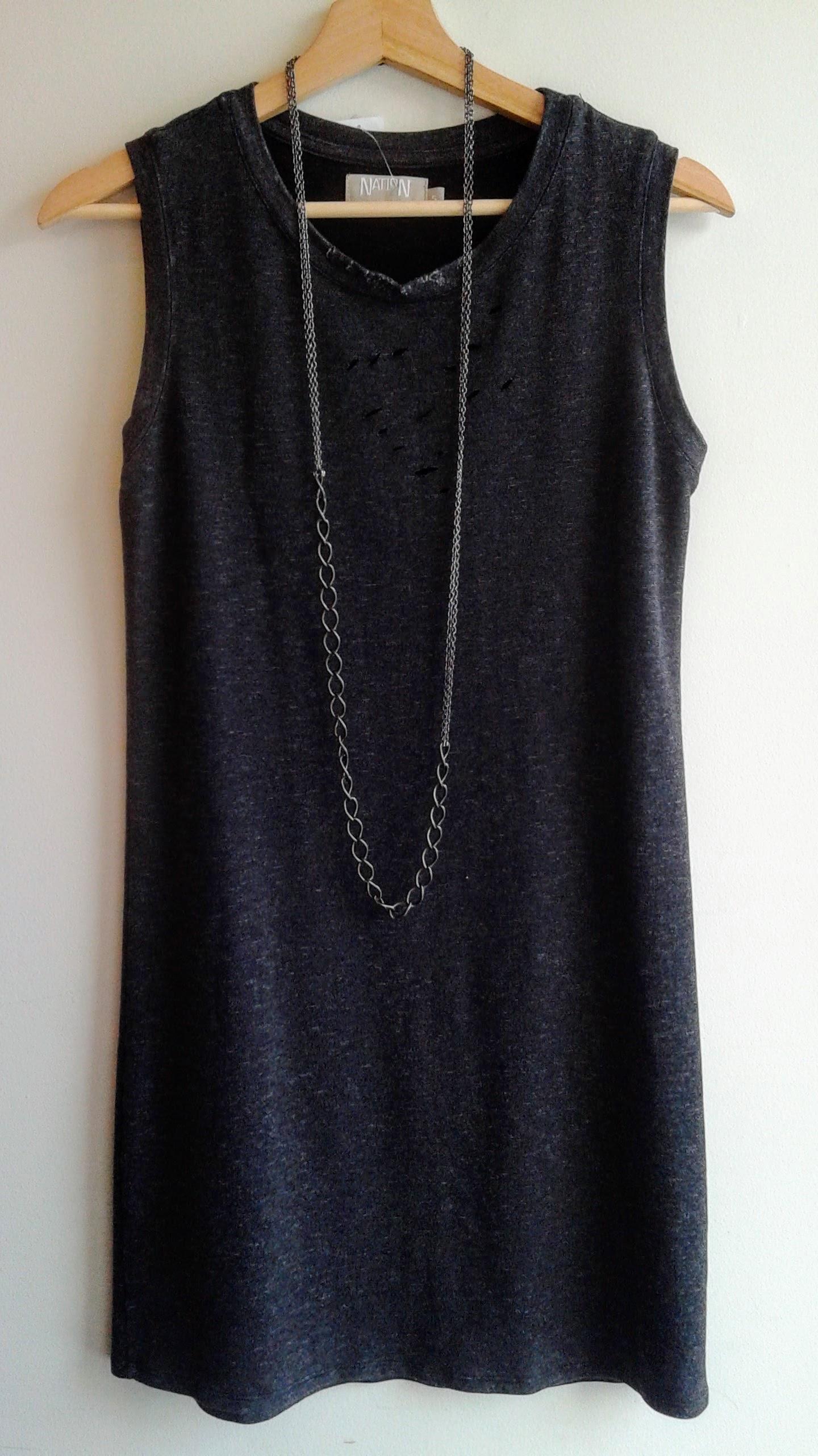 Nation dress; Size S. $26; Necklace, $14