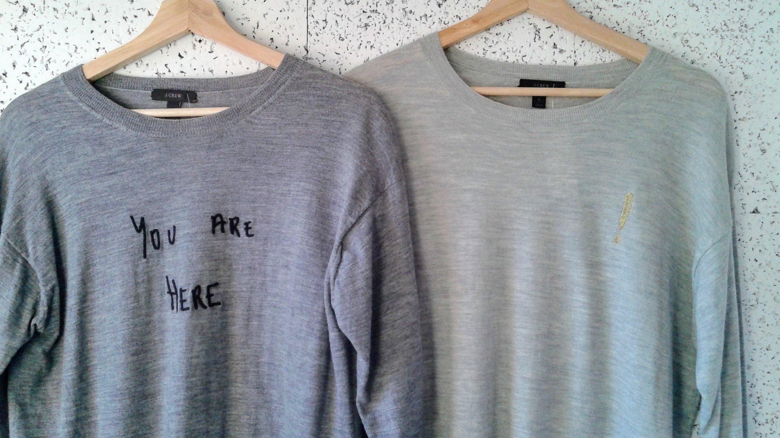 JCrew sweater; Size M, $32. JCrew sweater; Size L, $34