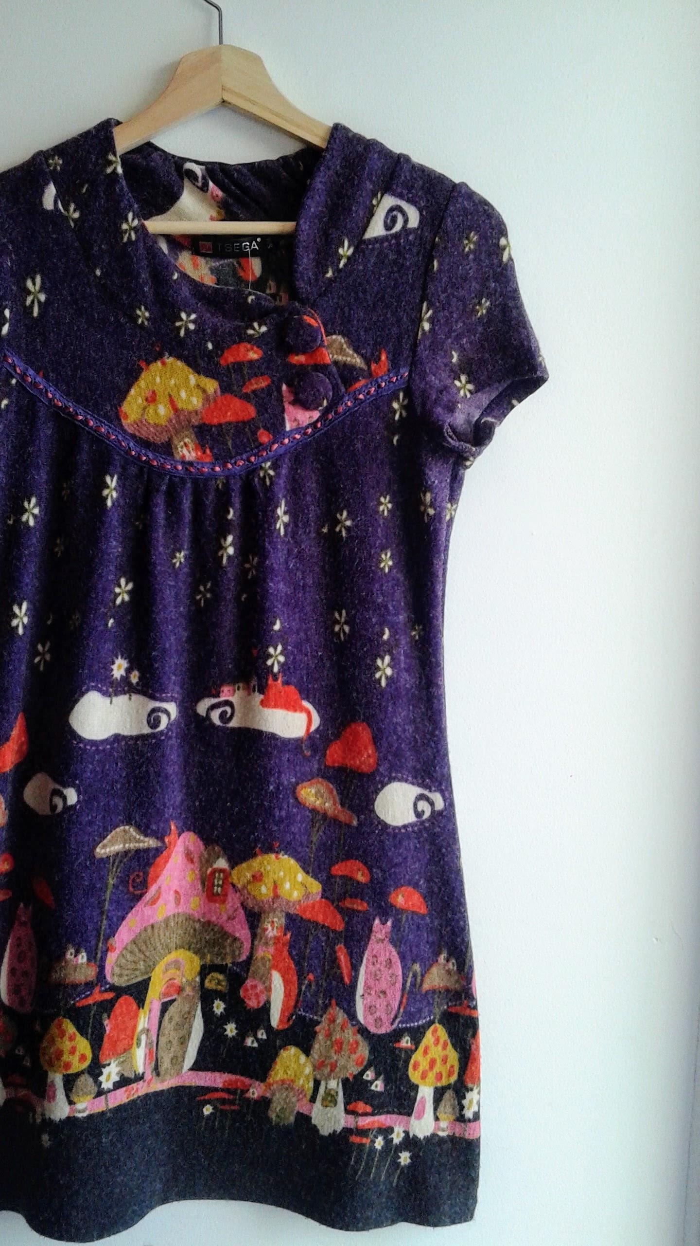 Purple dress; Size S, $26
