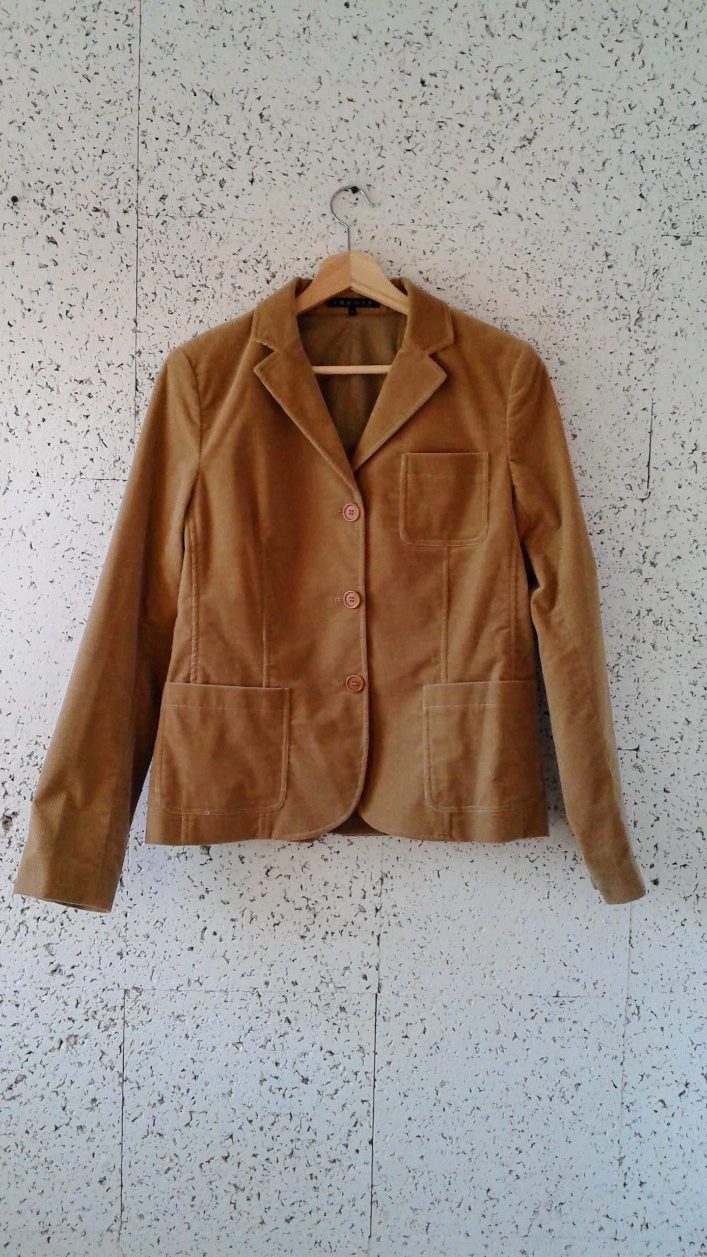 Theory blazer; Size M, $52