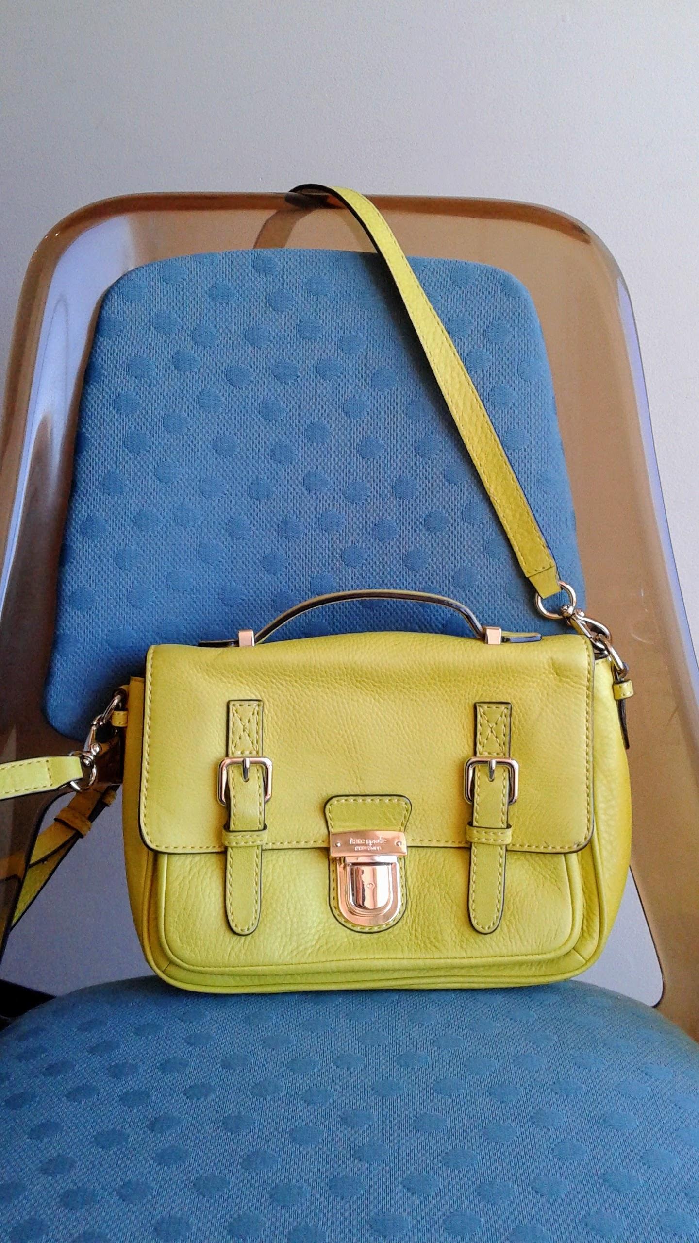 Kate Spade satchel; $130