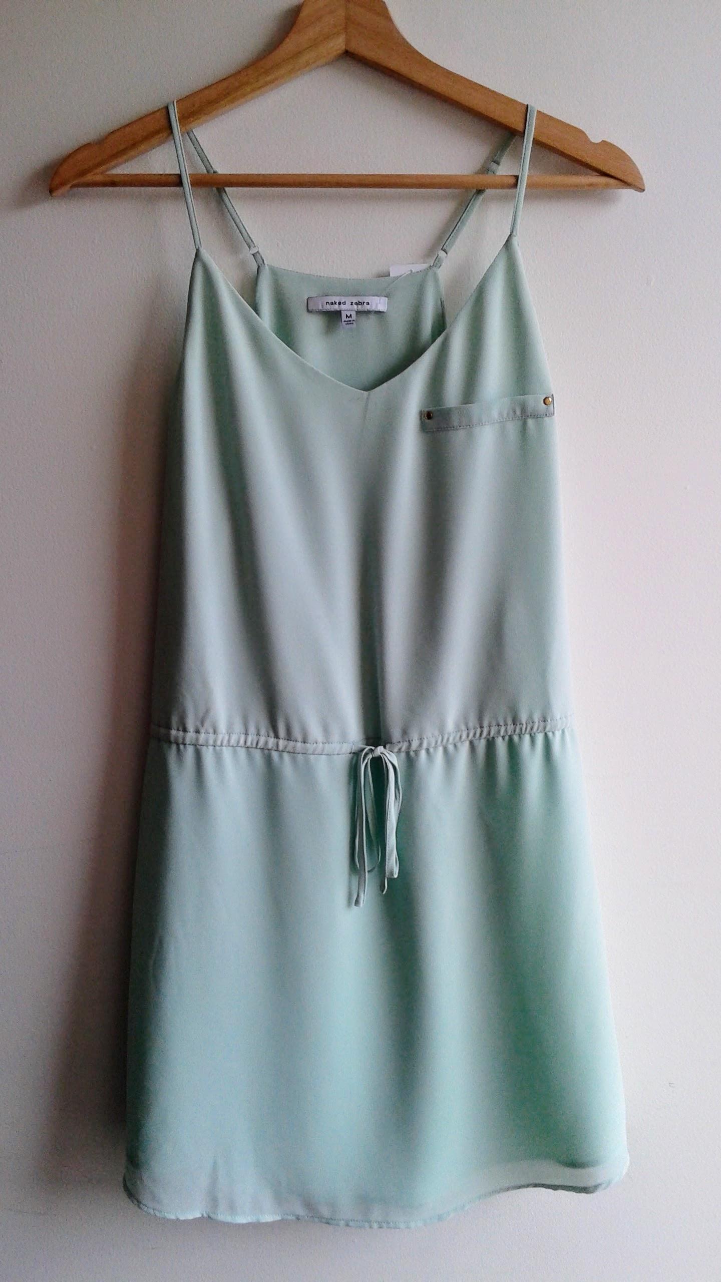 Naked Zebra  dress; Size M, $28