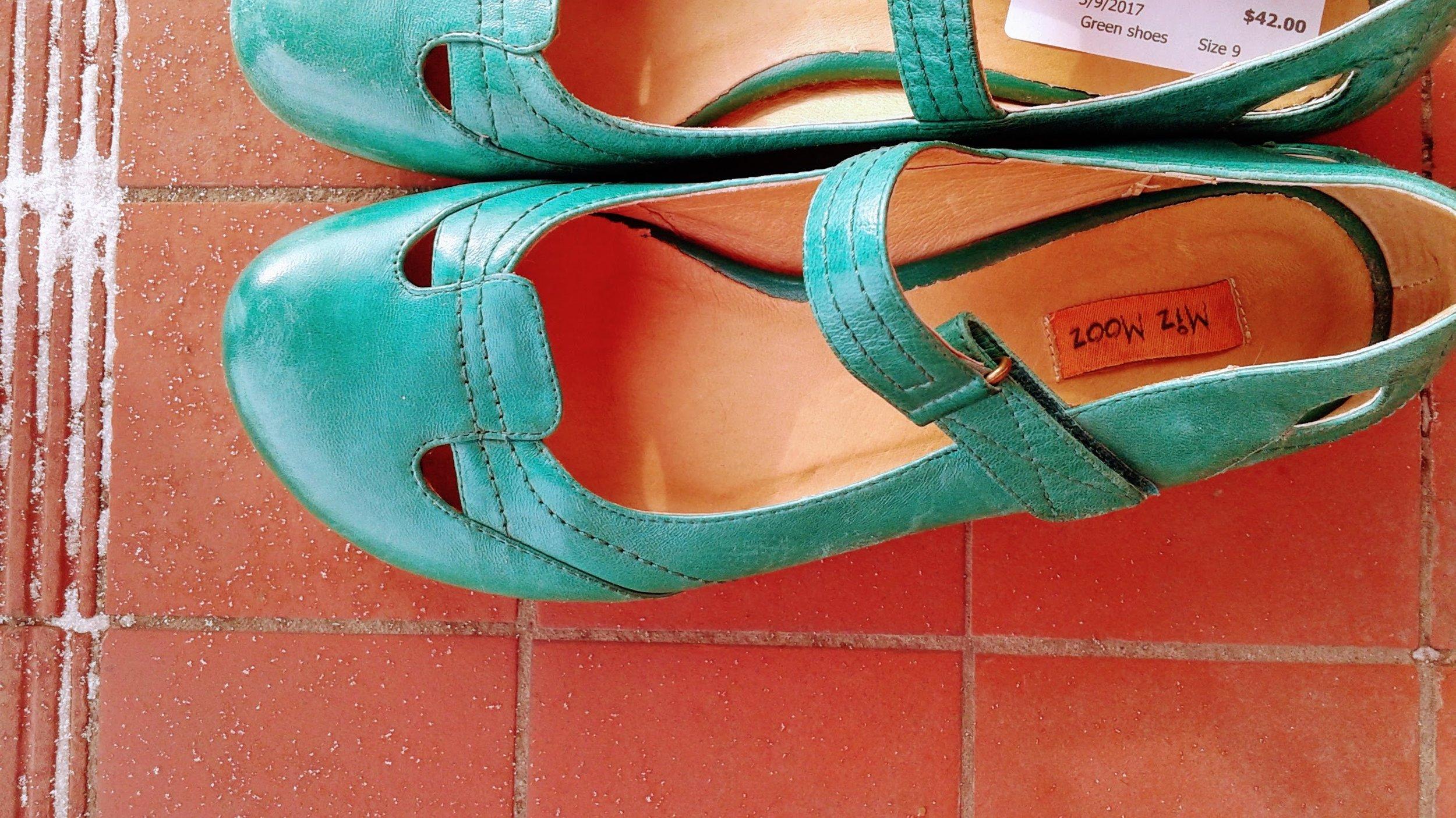 Miz Mooz shoes; S9, $42