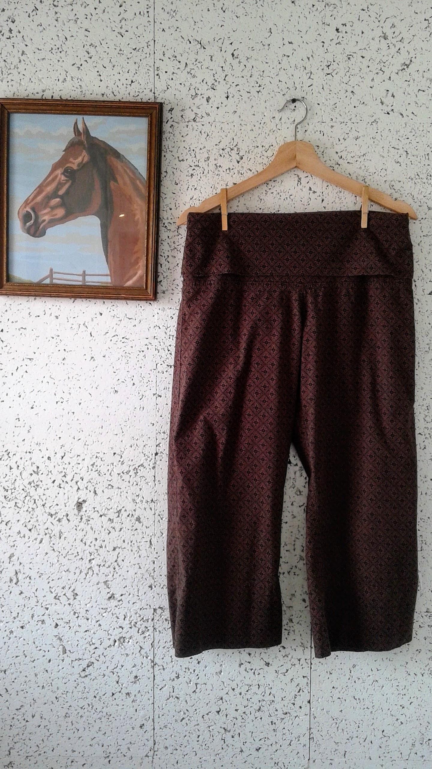 Sabrina Butterfly pants; Size S, $28