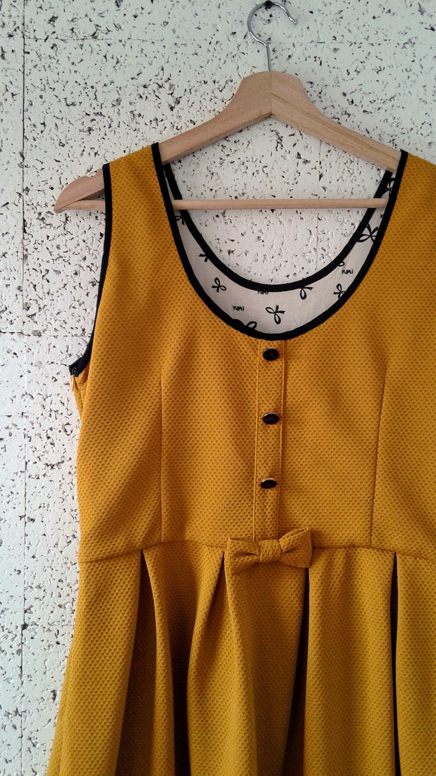 Back of Yumi dress