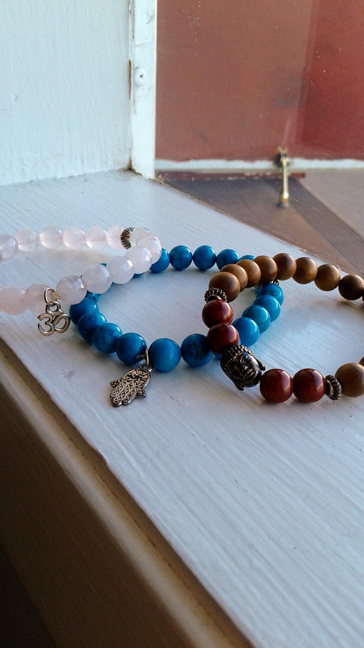 Bracelets, $20-$30