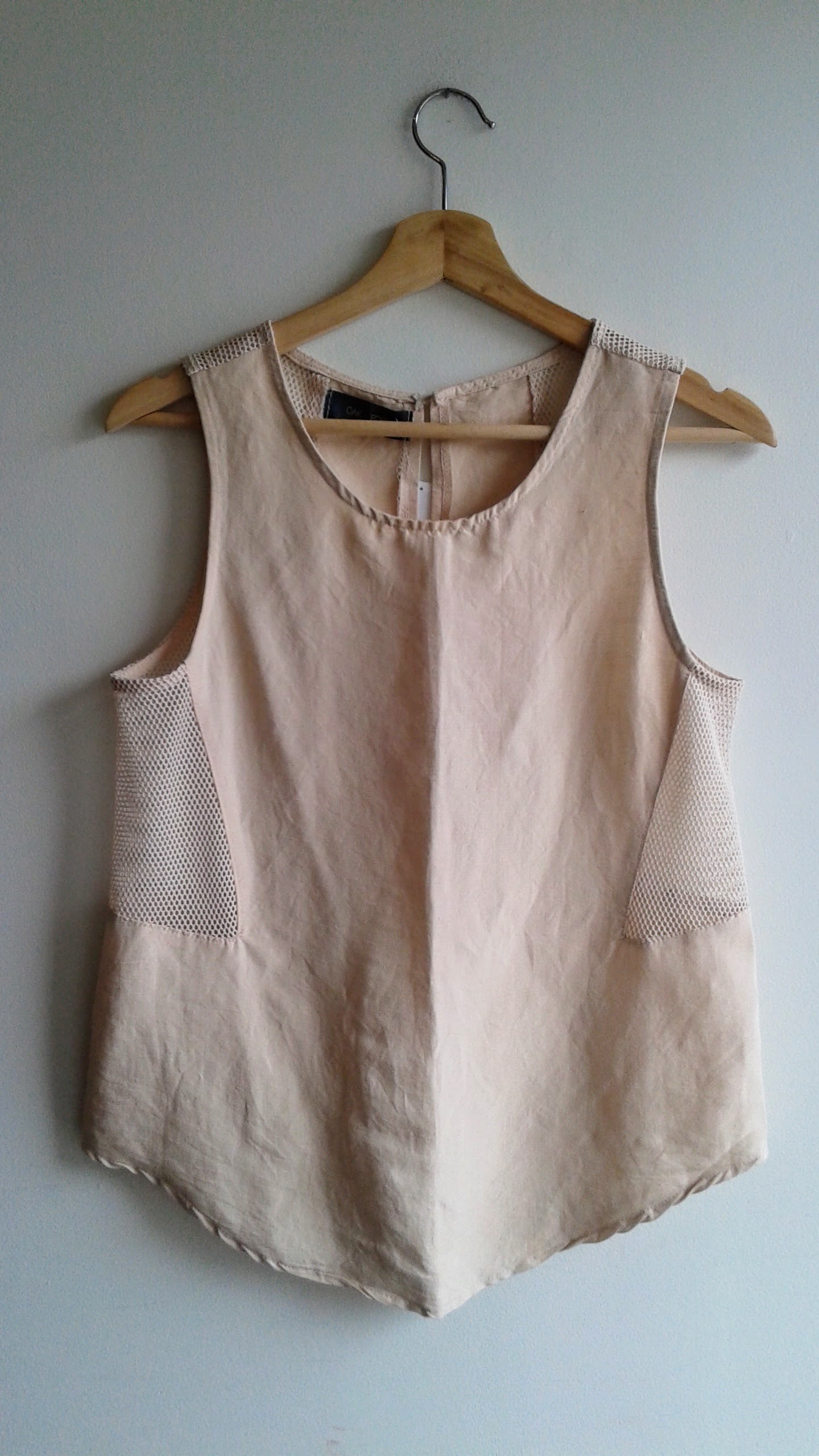 Oak+Fort top; Size S, $26