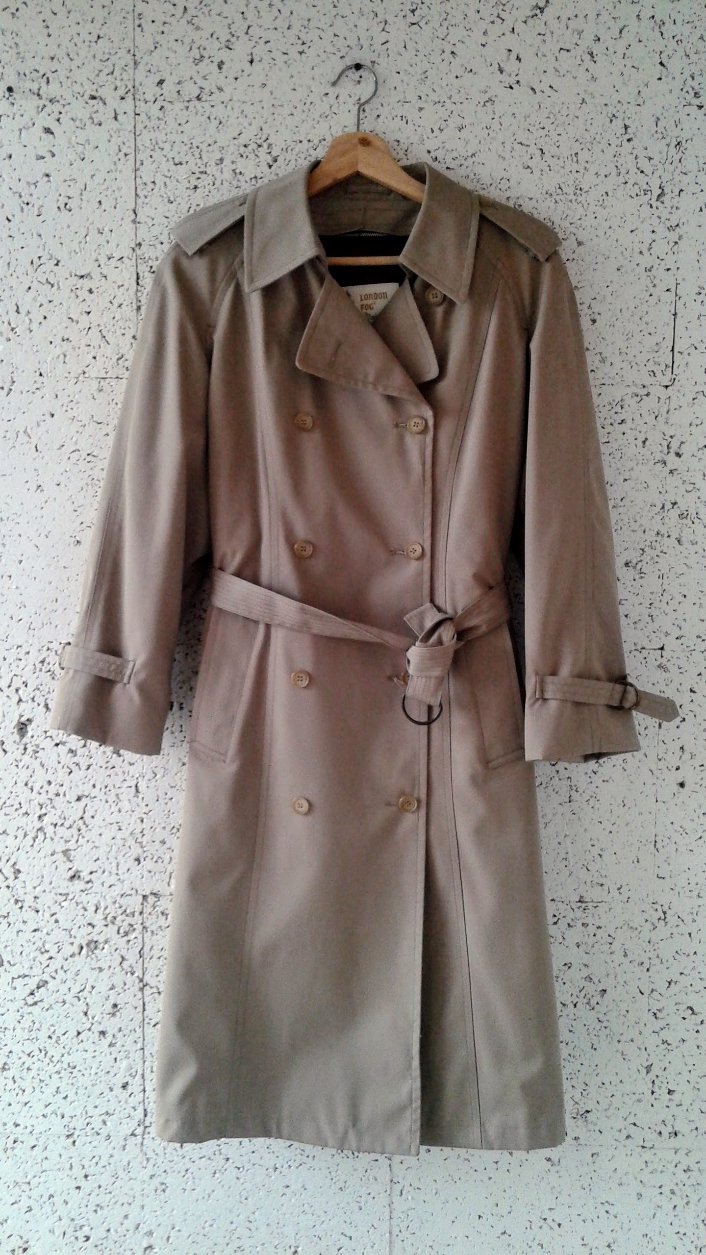 London Fog coat; Size 10, $58