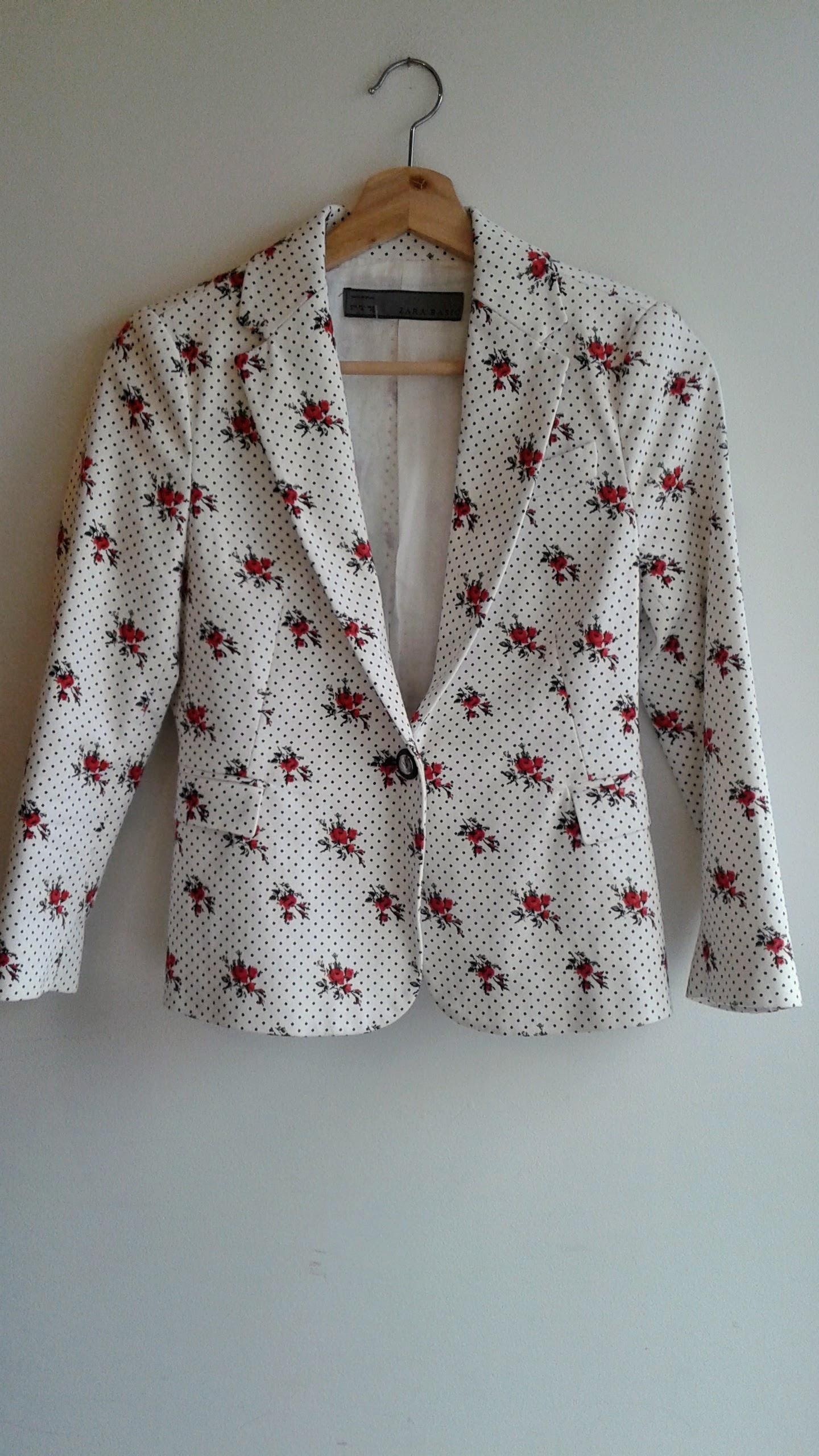 Zara blazer; Size S, $34