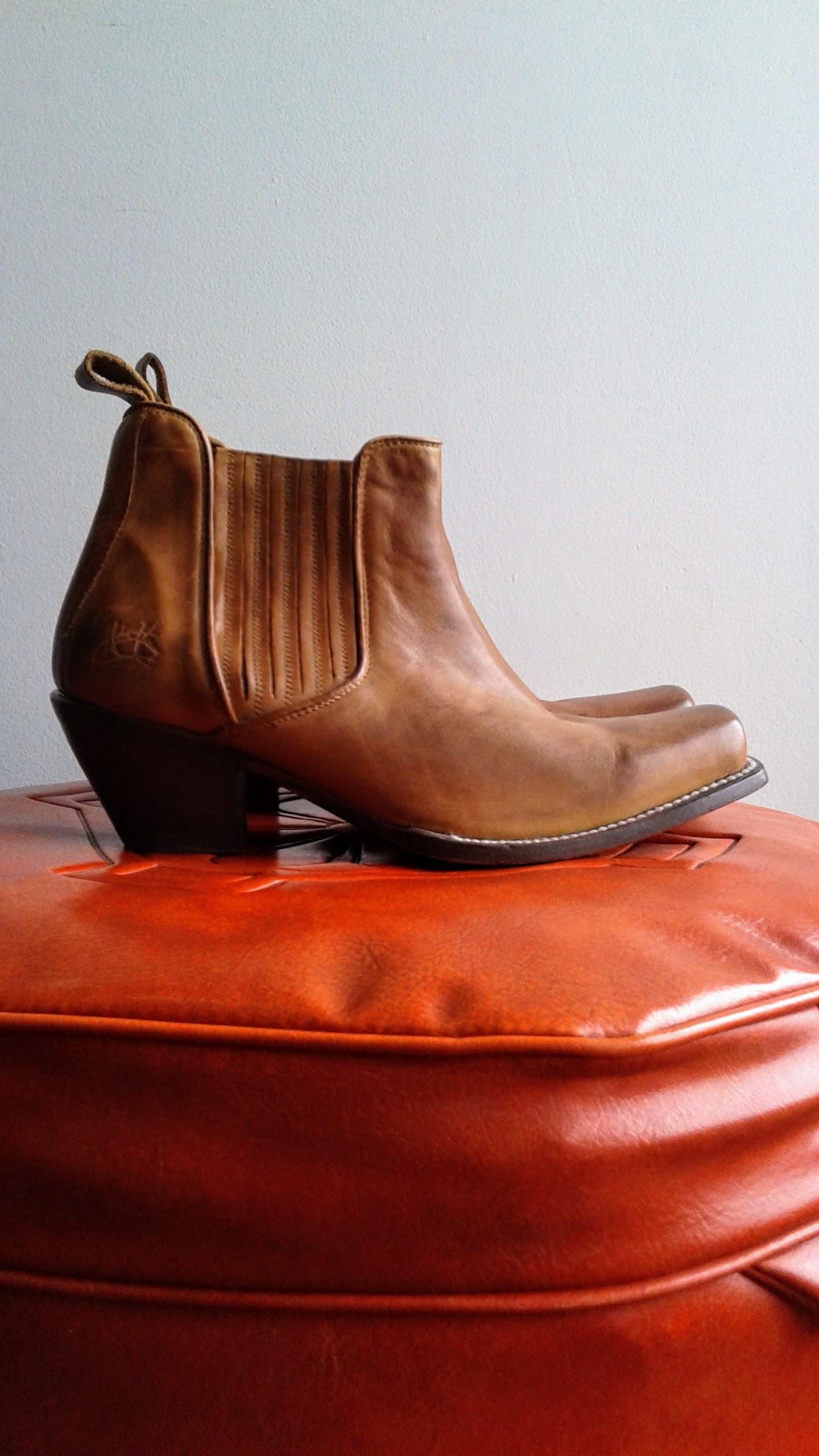 Fluevog boots; S10, $85