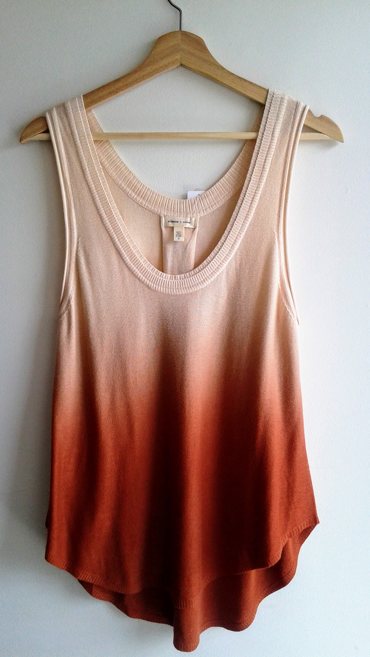 Silence+Noise  top; Size S, $24