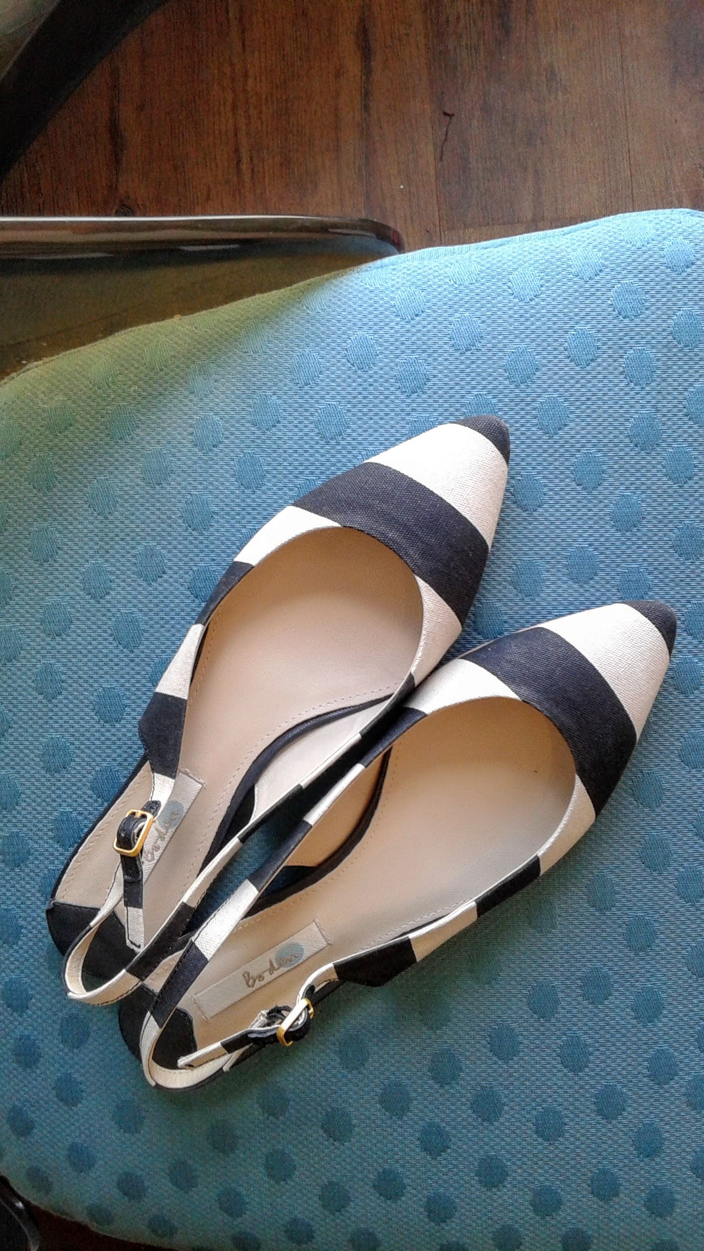 Boden shoes; S9.5, $26