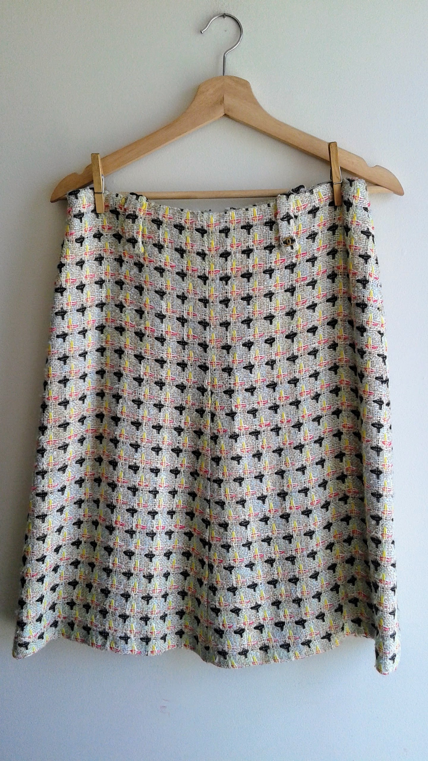 Chanel skirt; Size 8, $62