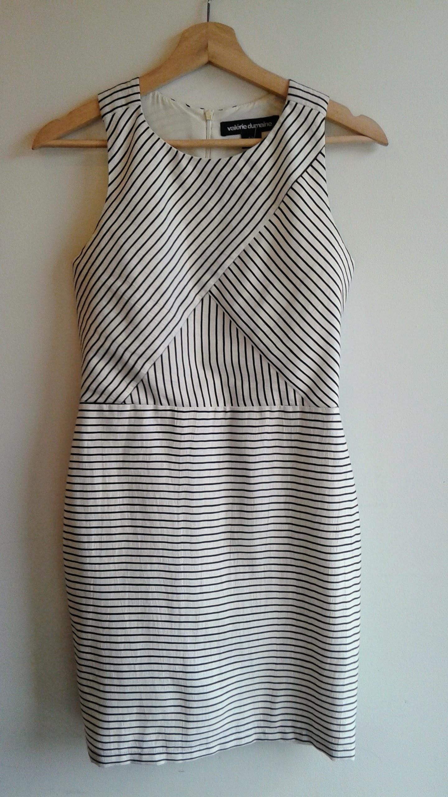 Valerie Dumaine dress; Size S, $52