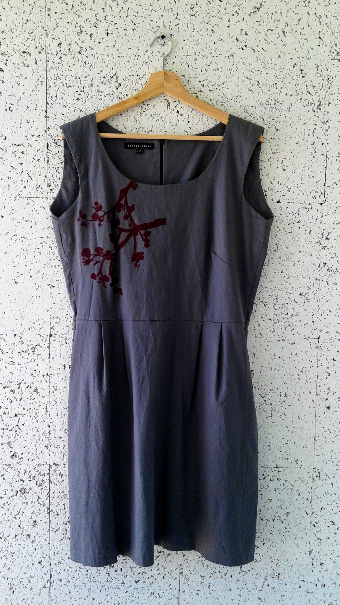 Cinder+Smoke dress; Size L, $46